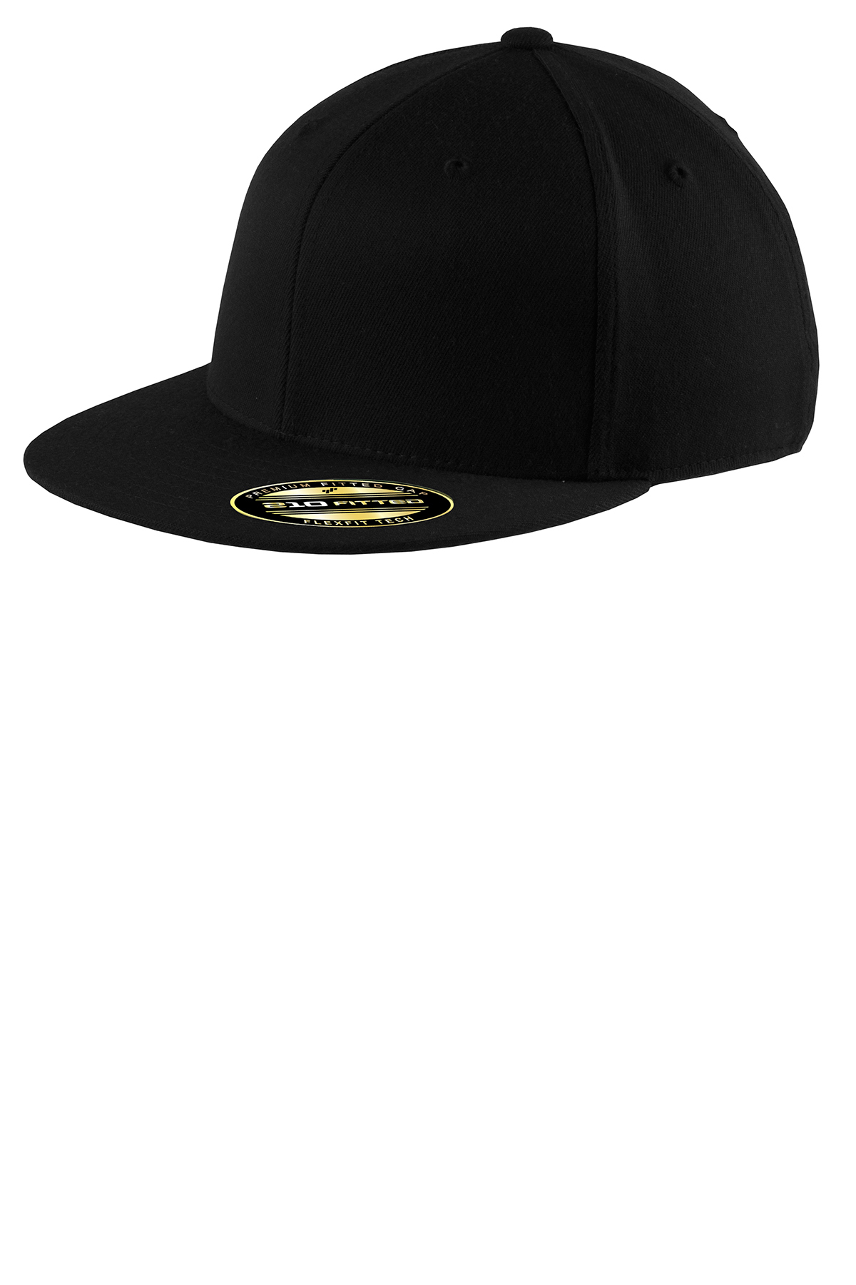 938c501689b Port Authority® Flexfit® Flat Bill Cap. Brand Logo