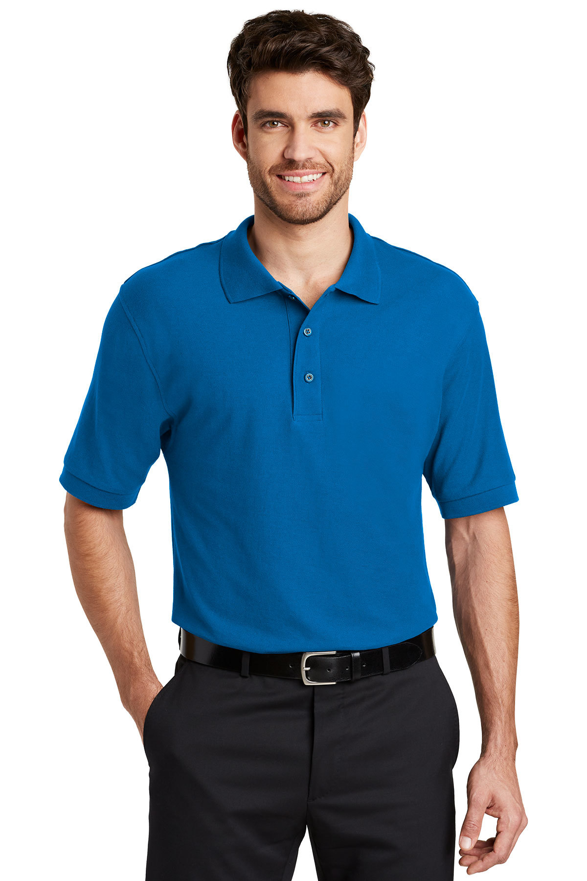 ef0a4cc93 Port Authority® Silk Touch™ Polo