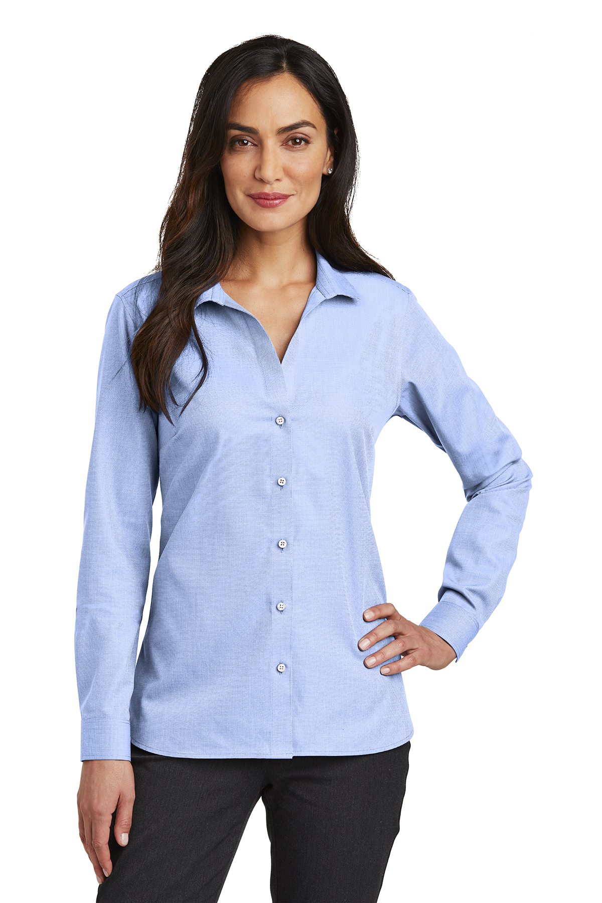 a92b7727110 Red House® Ladies Nailhead Non-Iron Shirt | Woven Shirts | SanMar