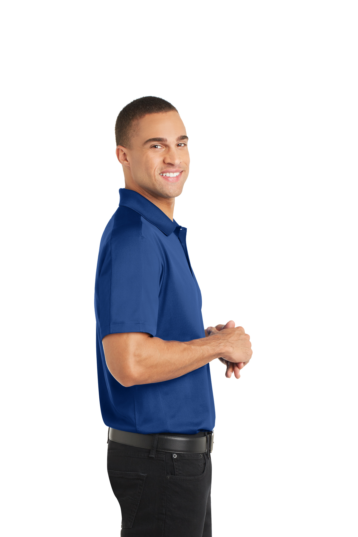 Port Authority Mens Diamond Jacquard Polo K569