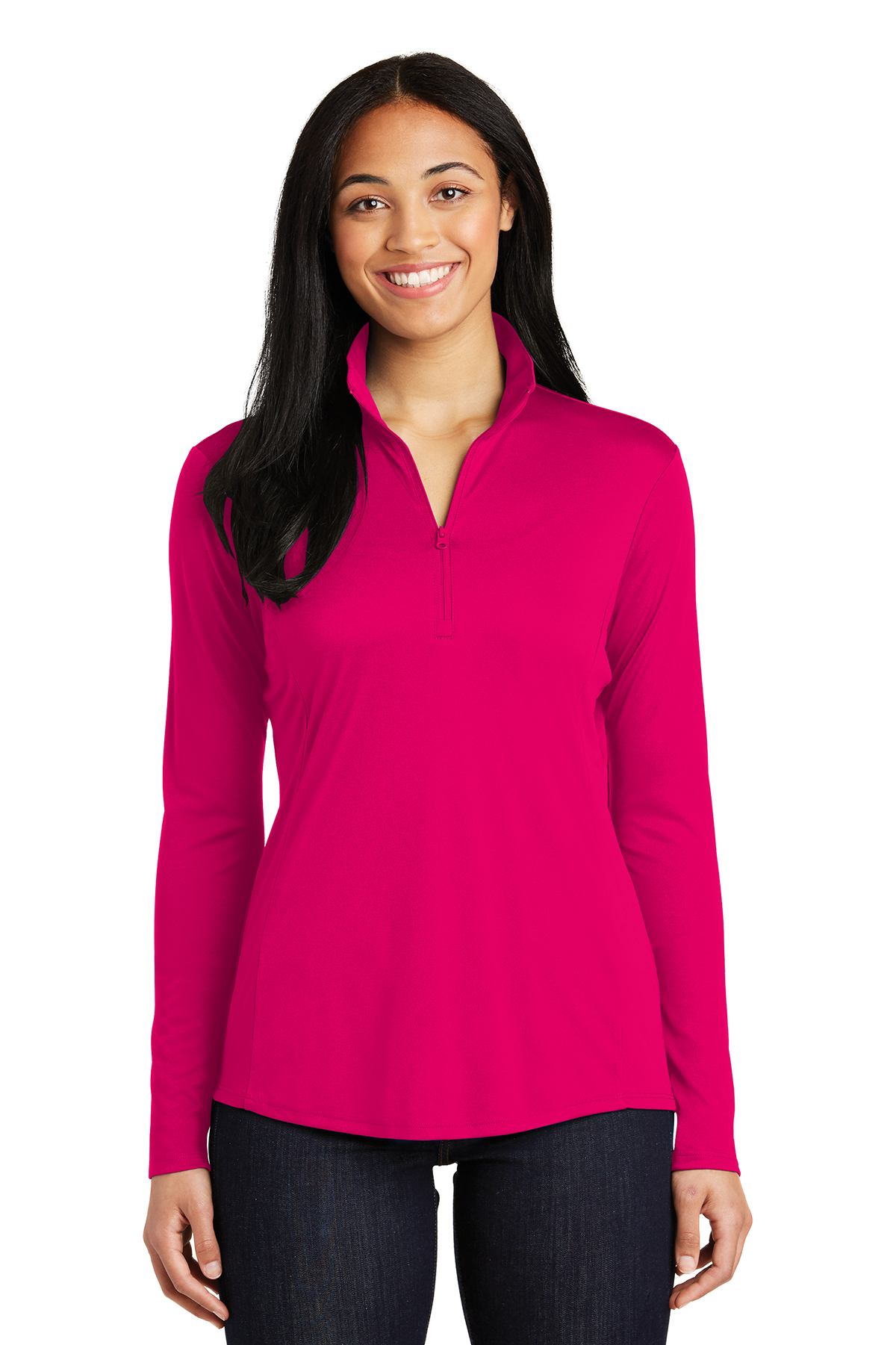 Sport Tek Ladies Posicharge Competitor 1 4 Zip Pullover 1 2 1 4 Zip Sweatshirts Fleece Sport Tek Great prices and discounts on the best women's athletic shirts from adidas, under armour, nike and more. sport tek ladies posicharge