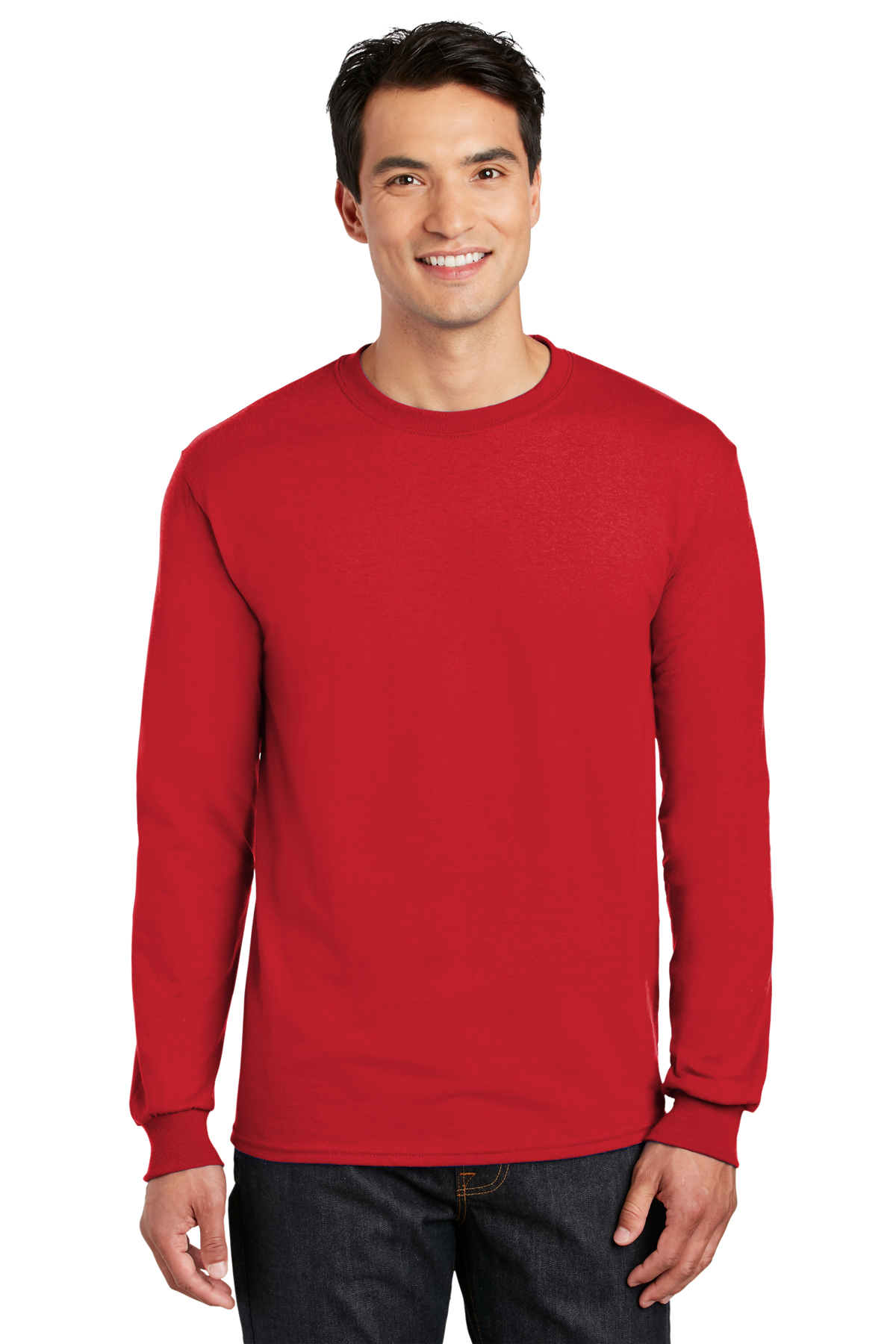 Gildan- DryBlend 50 Cotton/50 Poly Long Sleeve T-Shirt