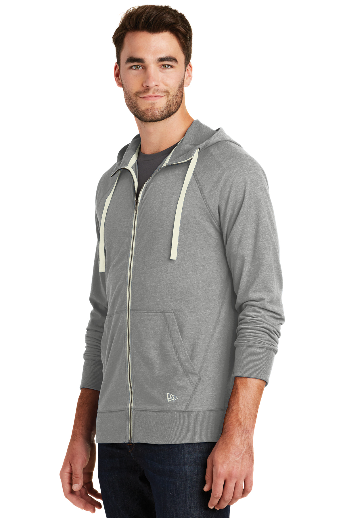 9eb9d7e3388 New Era® Sueded Cotton Blend Full-Zip Hoodie
