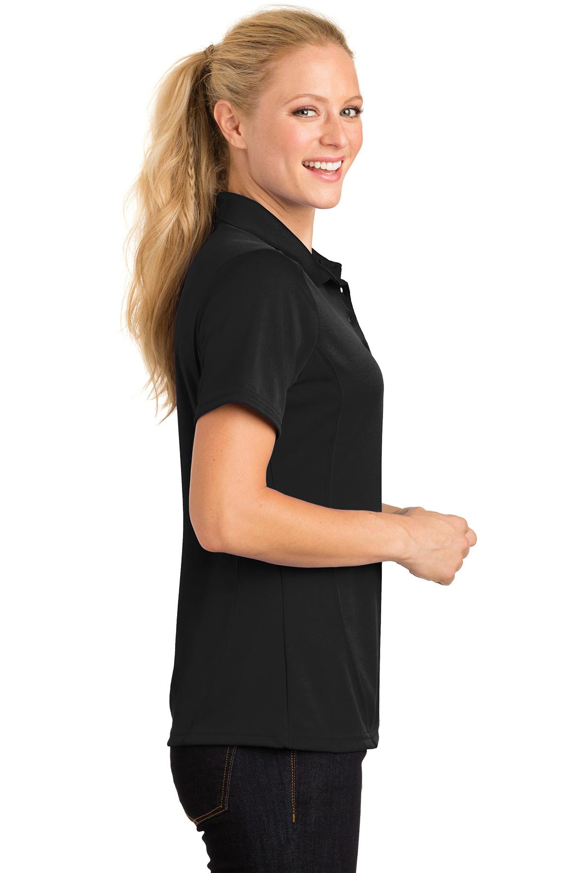 Sport-Tek Ladies Dry Zone Raglan Accent Polo L475
