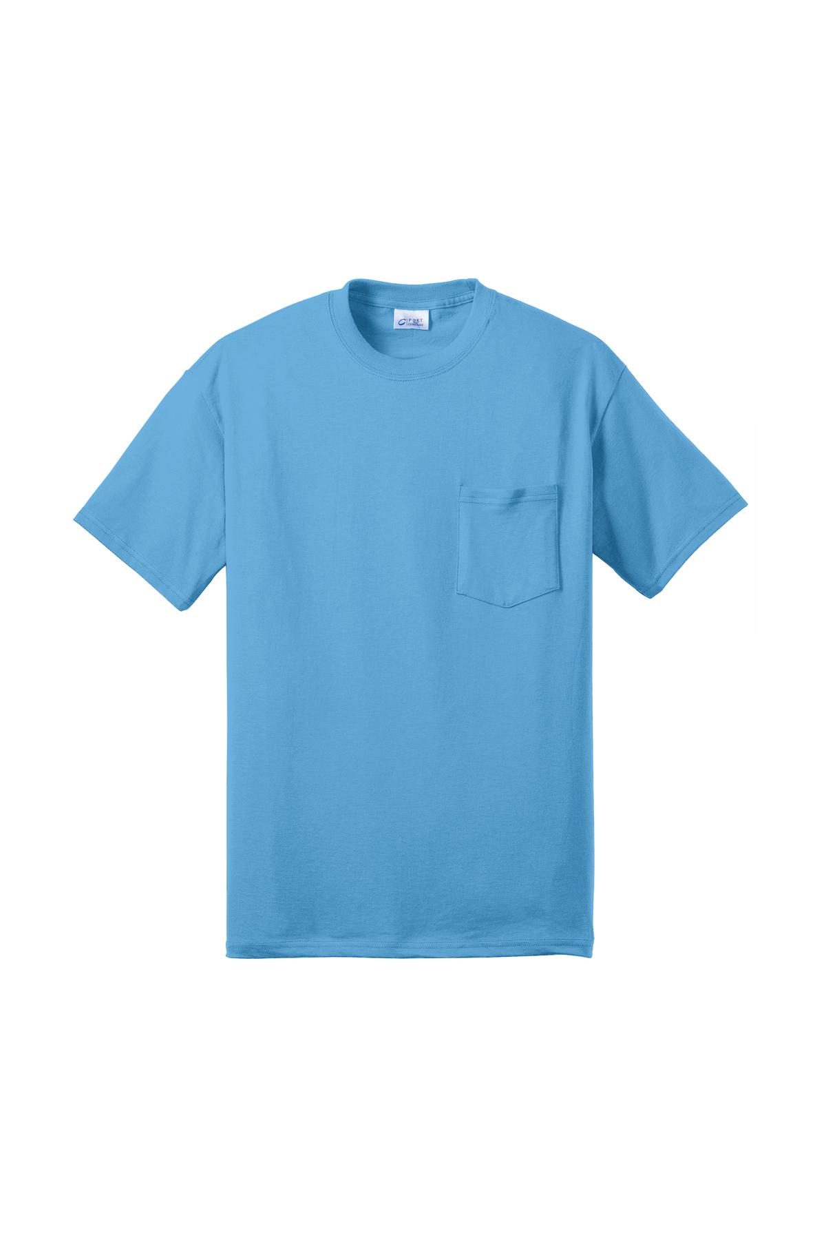 45196459e50a Port & Company® Tall Core Blend Pocket Tee | 50/50 Blend | T-Shirts | Port  & Company