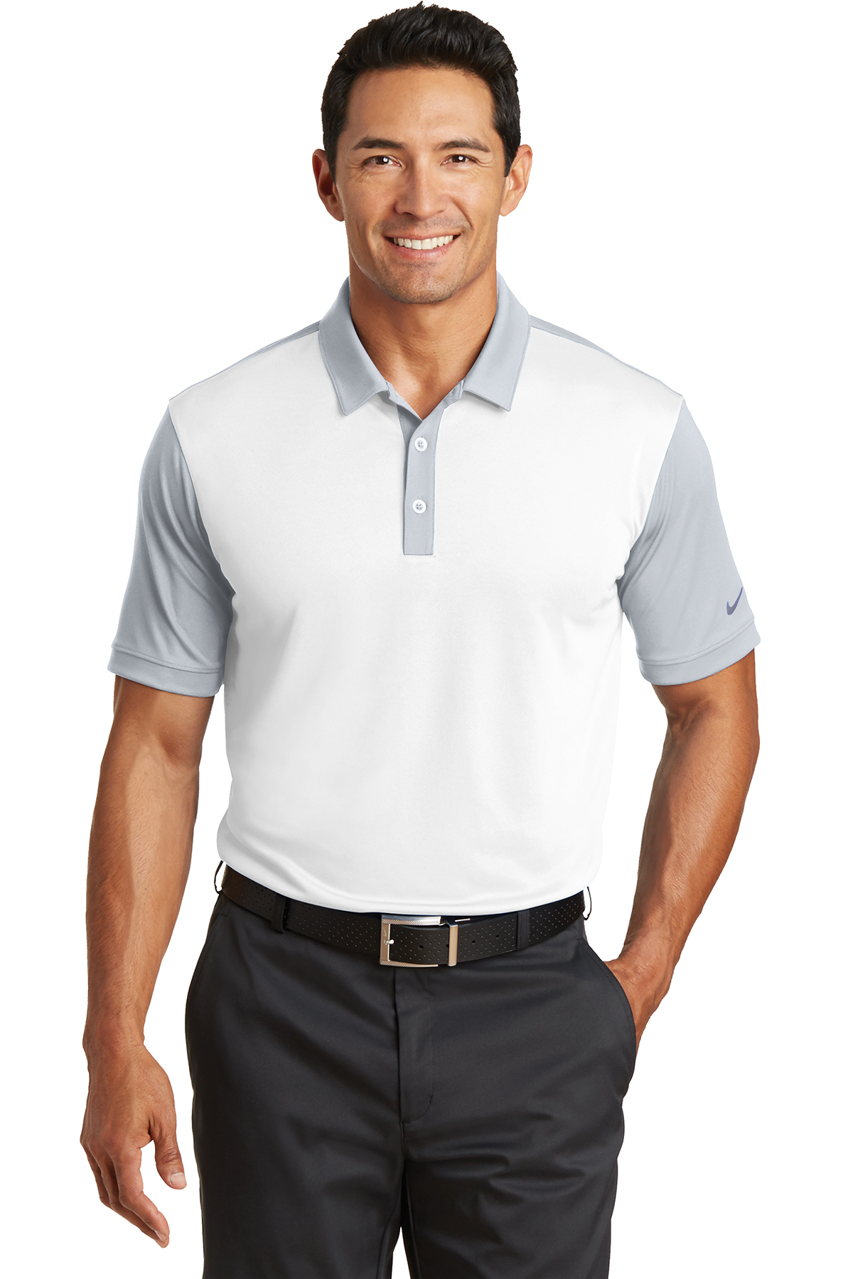a1396d5f Nike Dri-FIT Colorblock Icon Modern Fit Polo | Performance | Polos ...