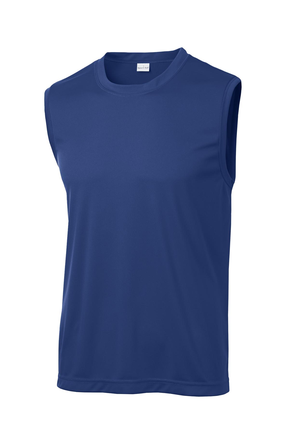 Guitar Peace Sign Men/'s Sleeveless Moisture Wicking Tee T-Shirt GUITARPEACE-ST352