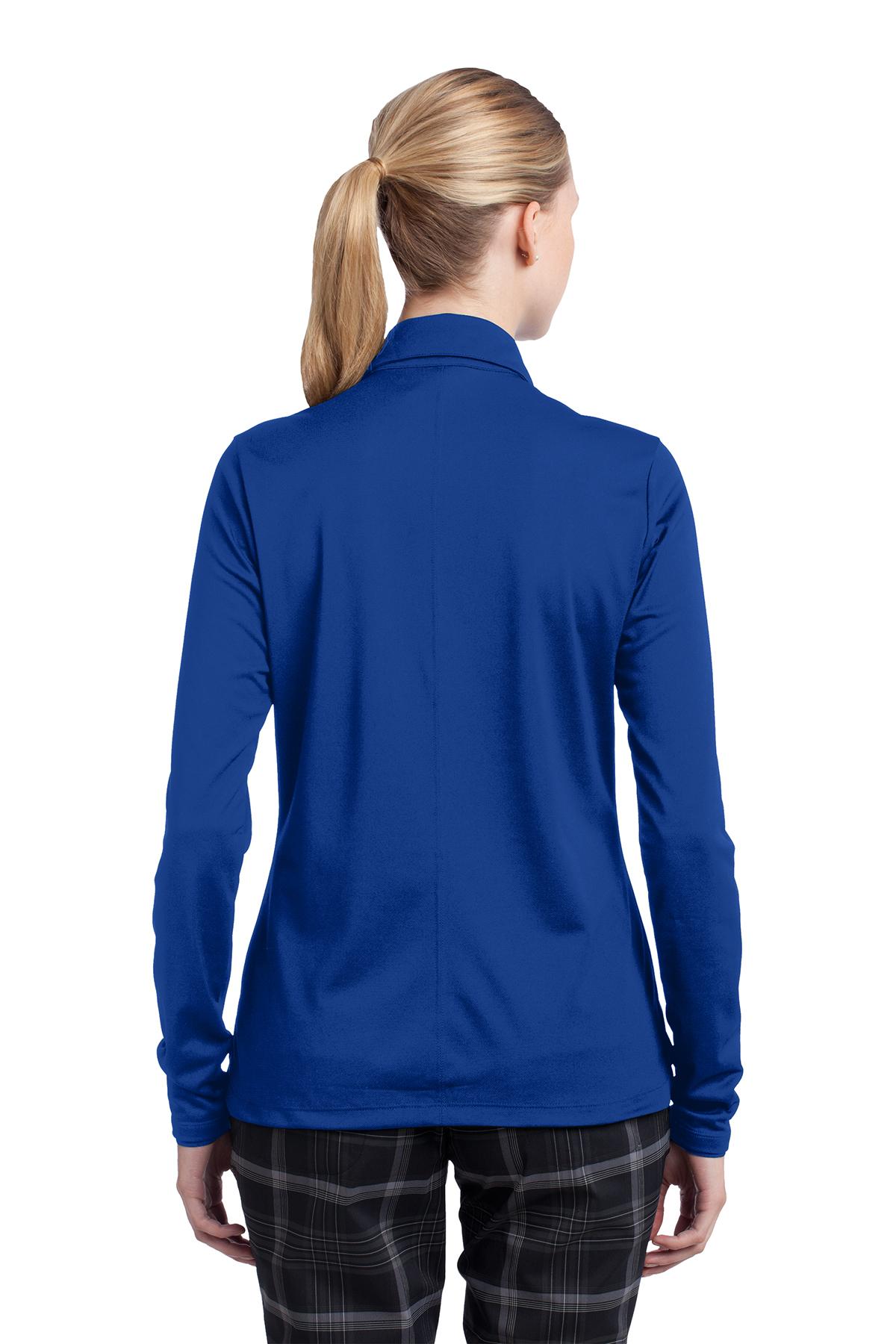 647a057a Nike Ladies Long Sleeve Dri-FIT Stretch Tech Polo   Ladies/Women ...