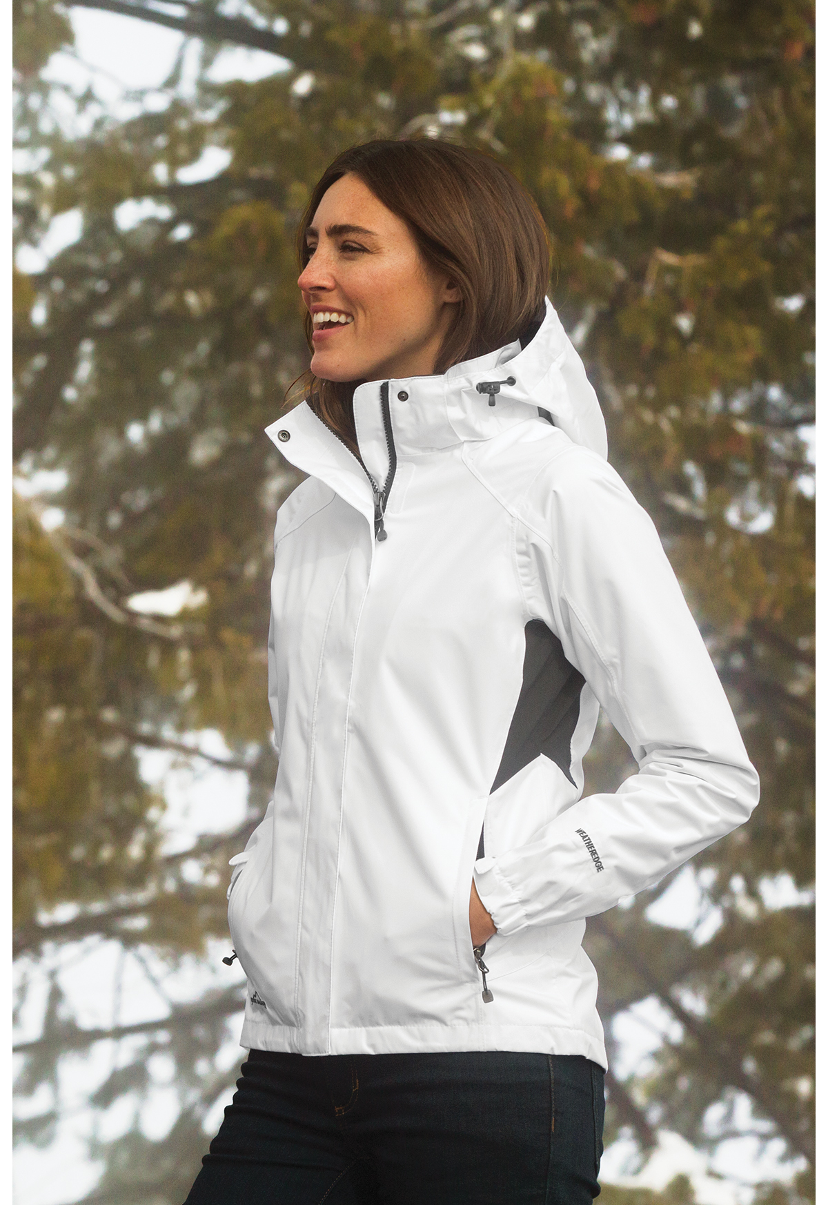 520aed1ab Eddie Bauer® - Ladies Rain Jacket | Rainwear | Outerwear | SanMar