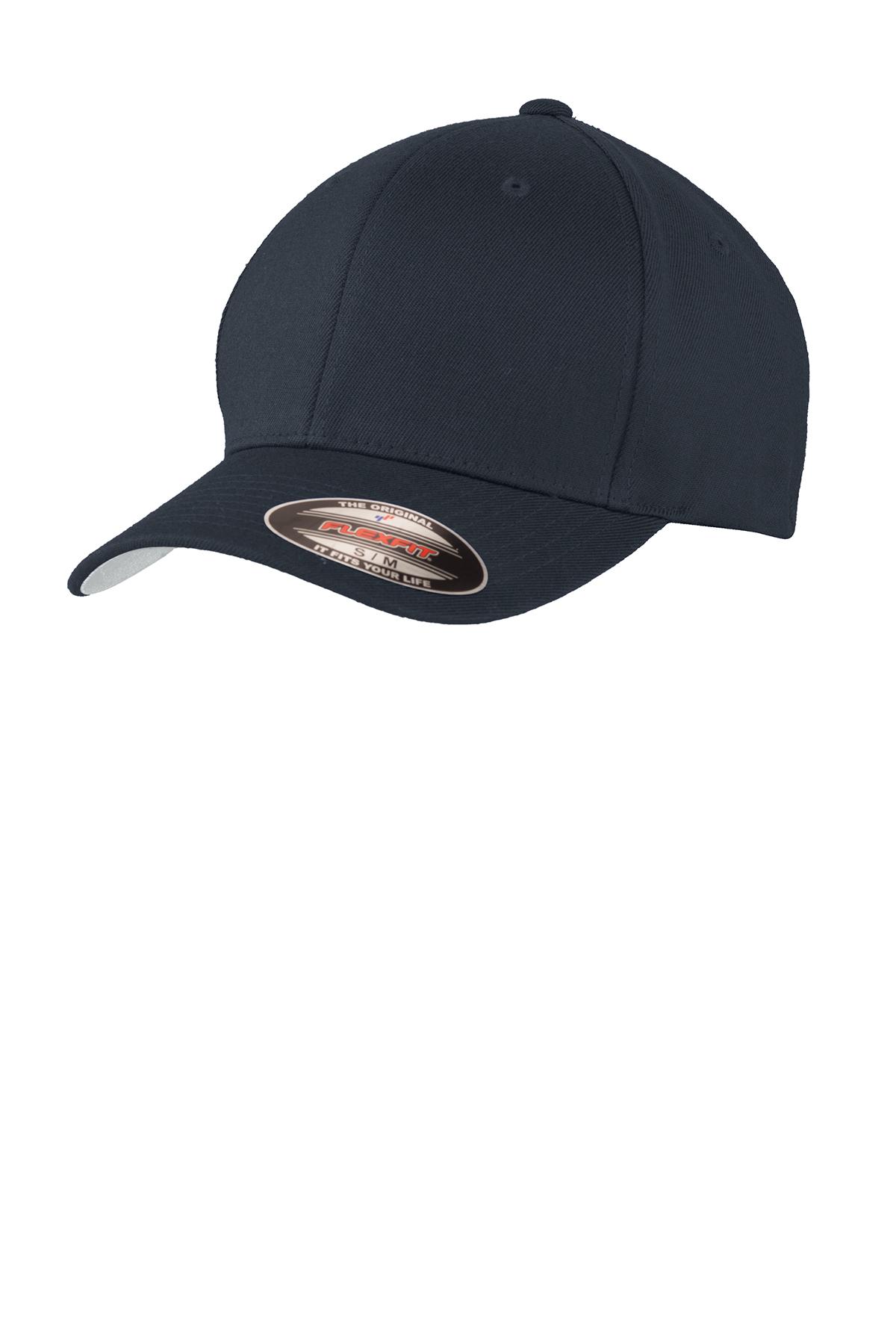 b2442db64 Port Authority® Flexfit® Wool Blend Cap | Flexfit | Caps | SanMar