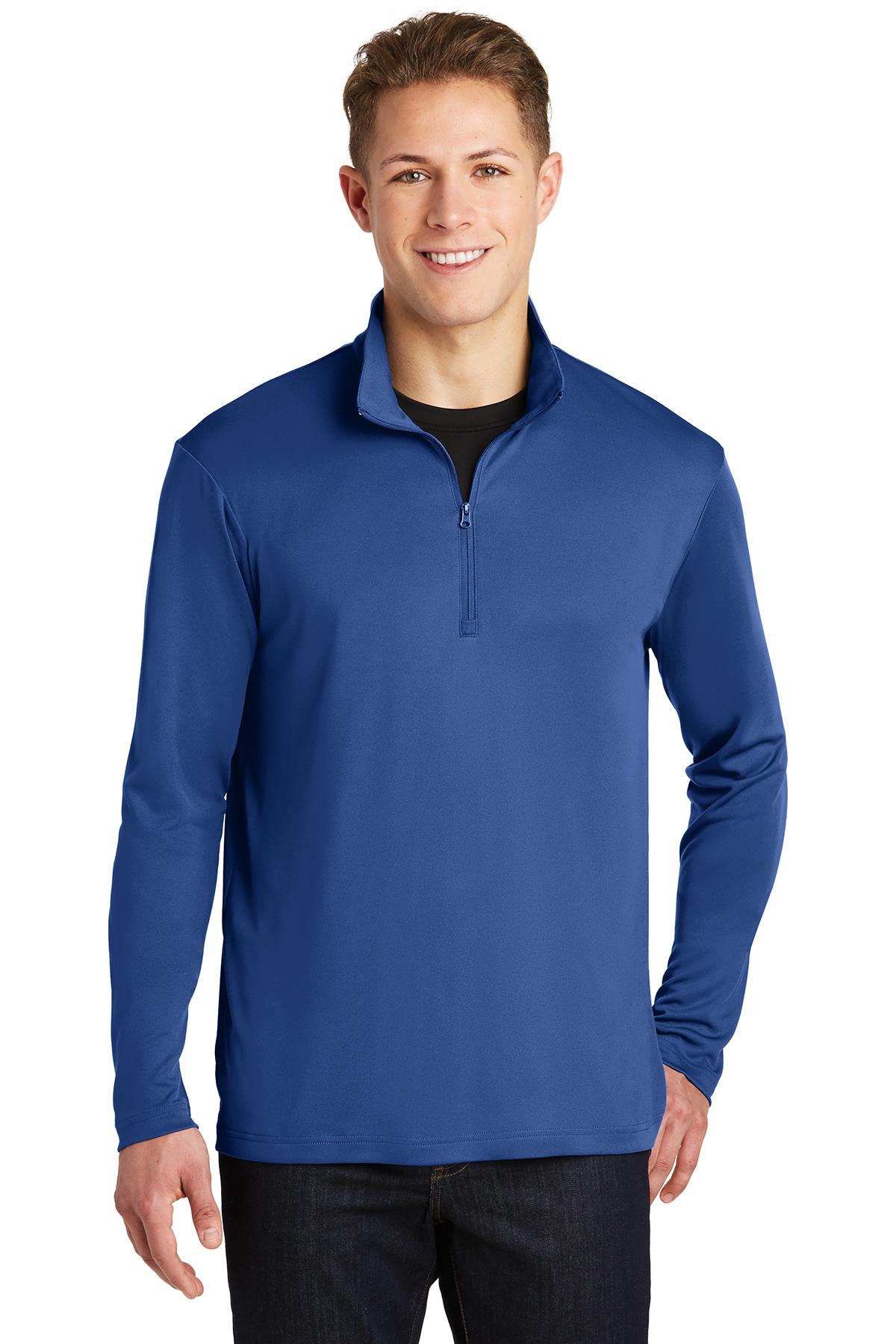Sport Tek Posicharge Competitor 1 4 Zip Pullover 1 2 1 4 Zip Sweatshirts Fleece Company Casuals Shop hivis supply and get free. company casuals