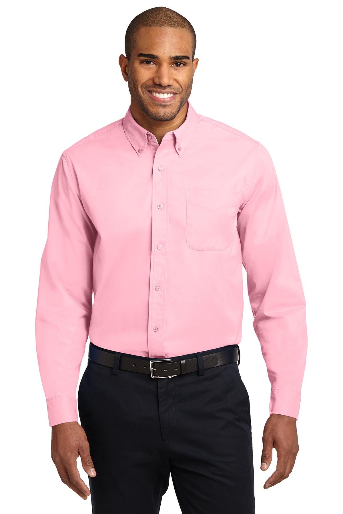 fd8779e2 Port Authority® Long Sleeve Easy Care Shirt | Cotton/Poly Blend ...