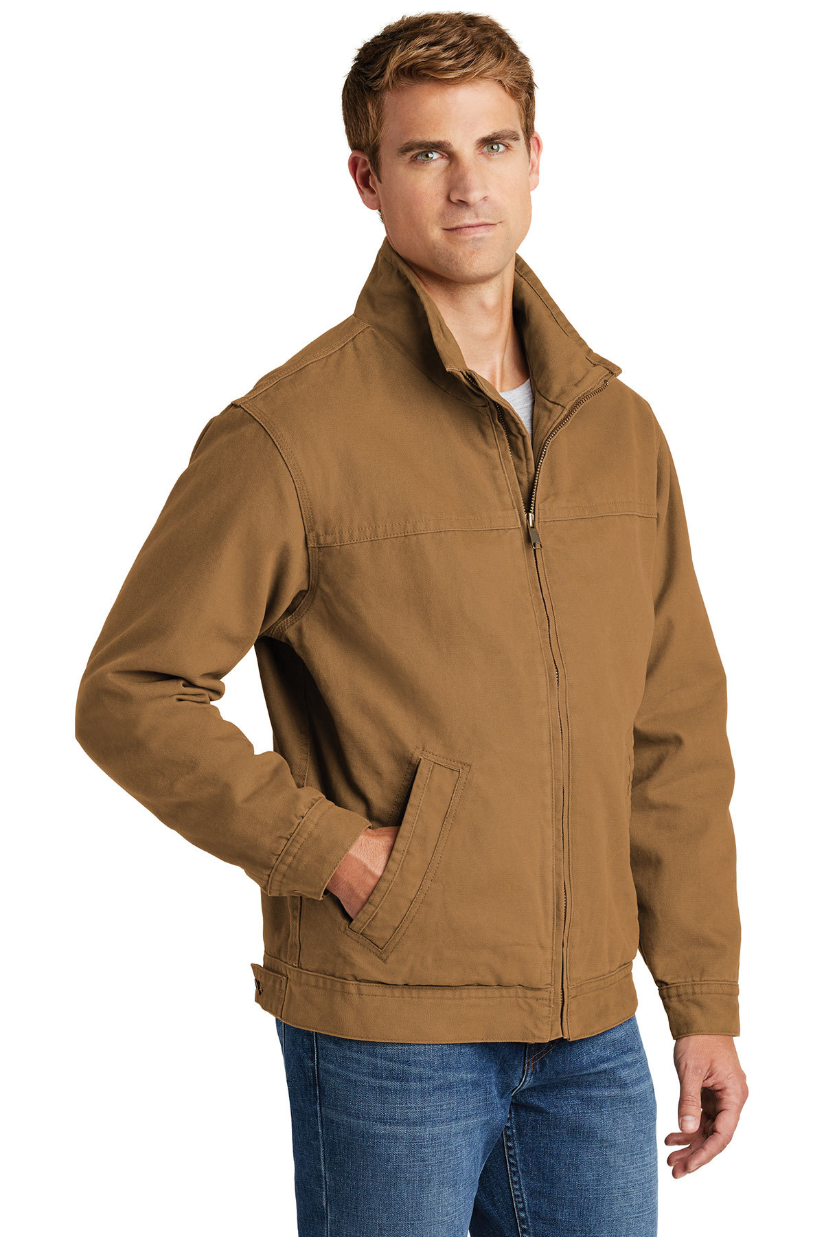 3e8984dc389 ... CornerStone® Washed Duck Cloth Flannel-Lined Work Jacket. A maximum of  8 logos have been uploaded. Please remove a logo from My Logos to continue