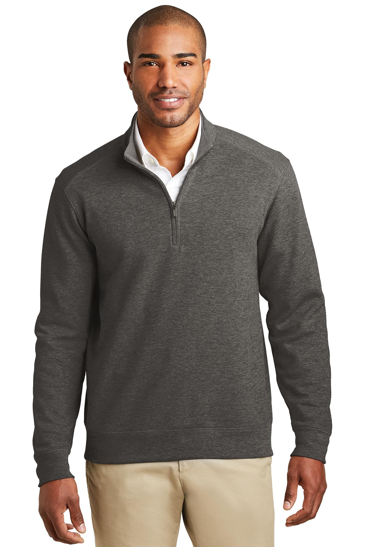 b885be133 Port Authority® Interlock 1/4-Zip   Sweaters   Polos/Knits   SanMar