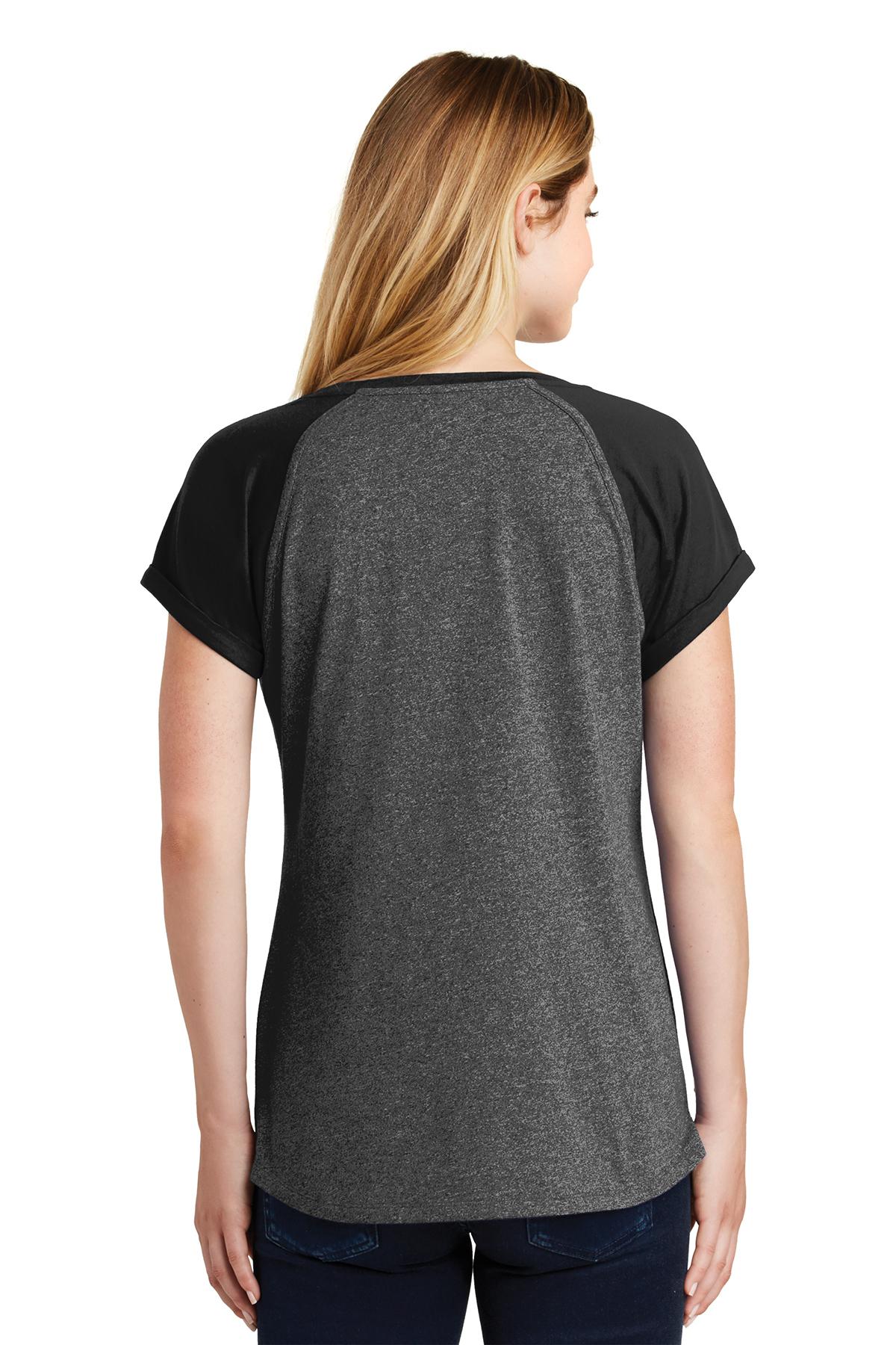 New Era 174 Ladies Heritage Blend Varsity Tee T Shirts