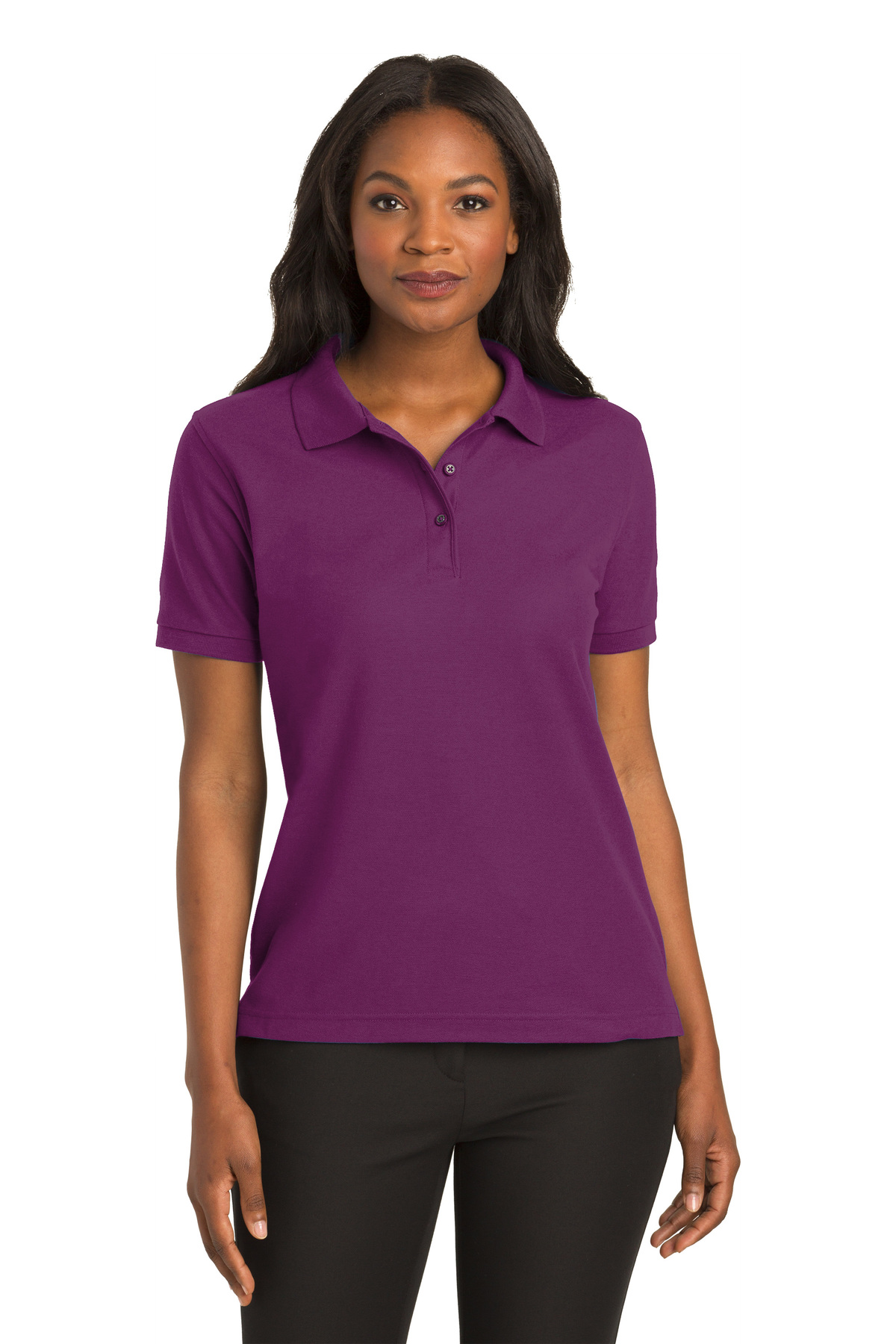 ad1d155b Port Authority® Ladies Silk Touch™ Polo