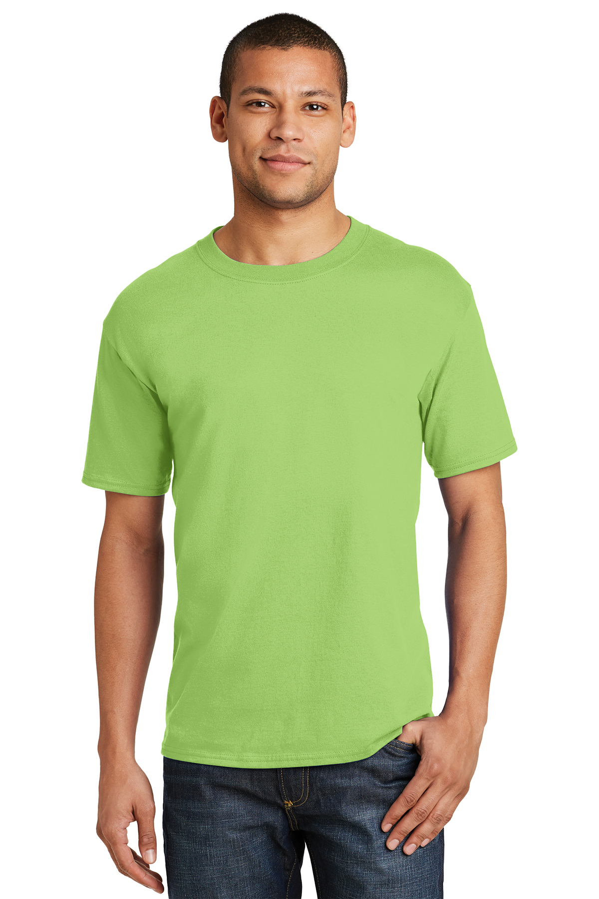 34fabee60 Hanes® Beefy-T® - 100% Cotton T-Shirt | 6-6.1 100% Cotton | T-Shirts ...