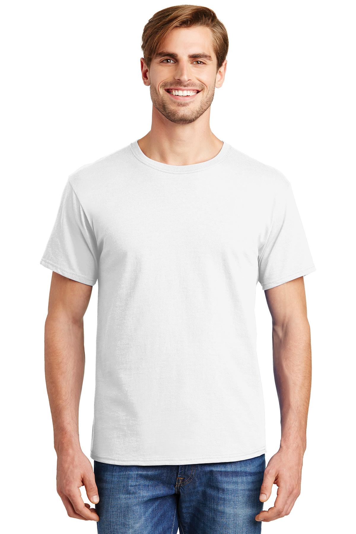 08c1d2fe4d33 Hanes® - ComfortSoft® 100% Cotton T-Shirt | 5-5.6 100% Cotton | T ...