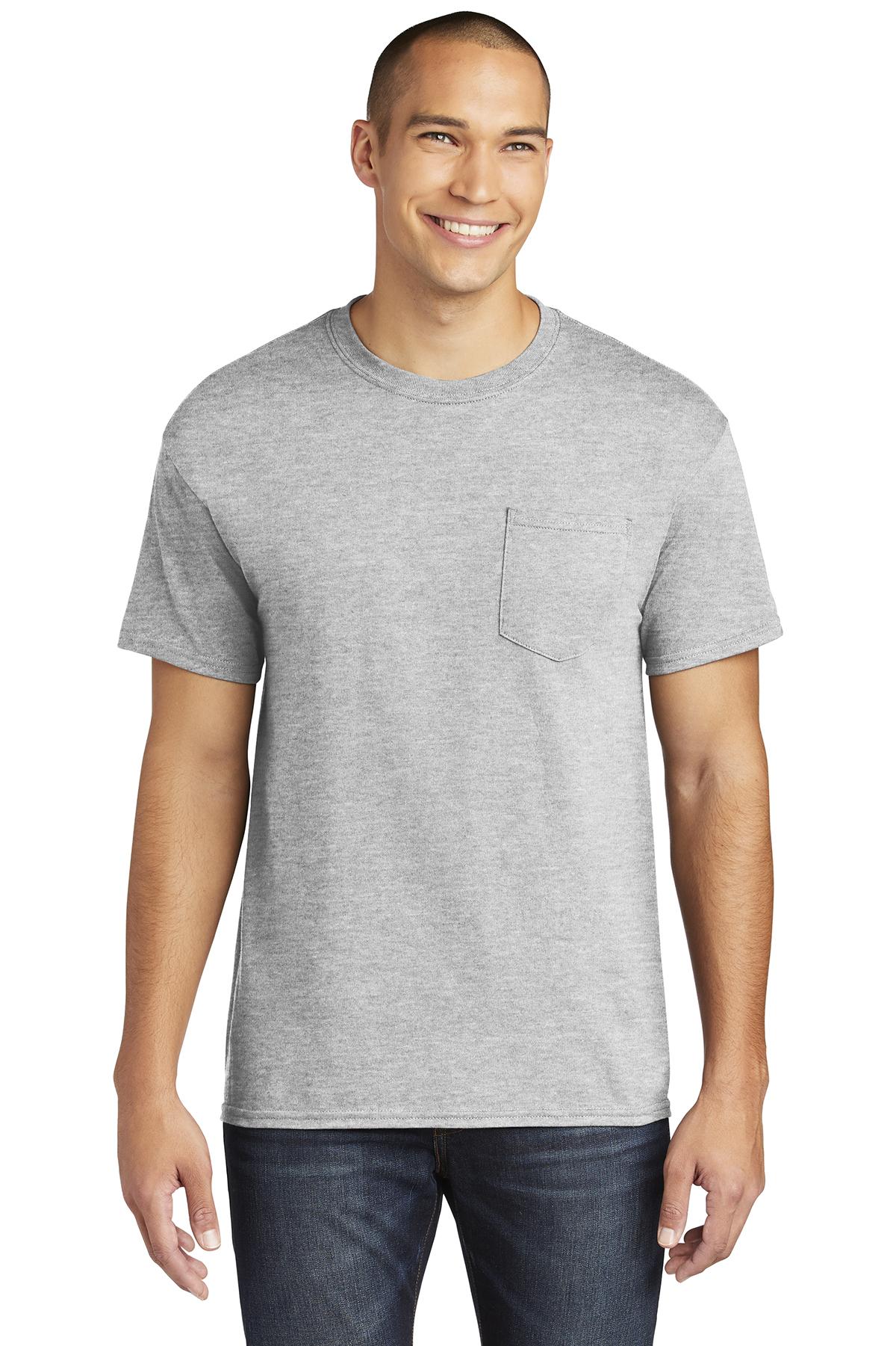 Gildan  Heavy Cotton  100% Cotton Pocket T-Shirt