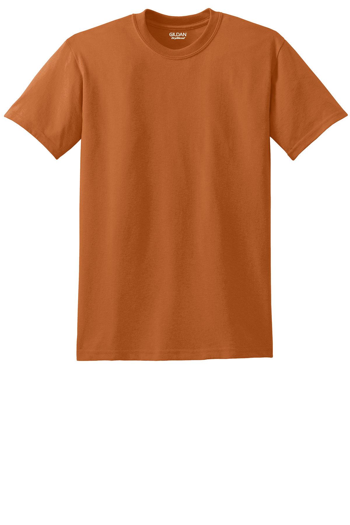Gildan Dryblend 50 Cotton 50 Poly T Shirt 50 50 Blend T