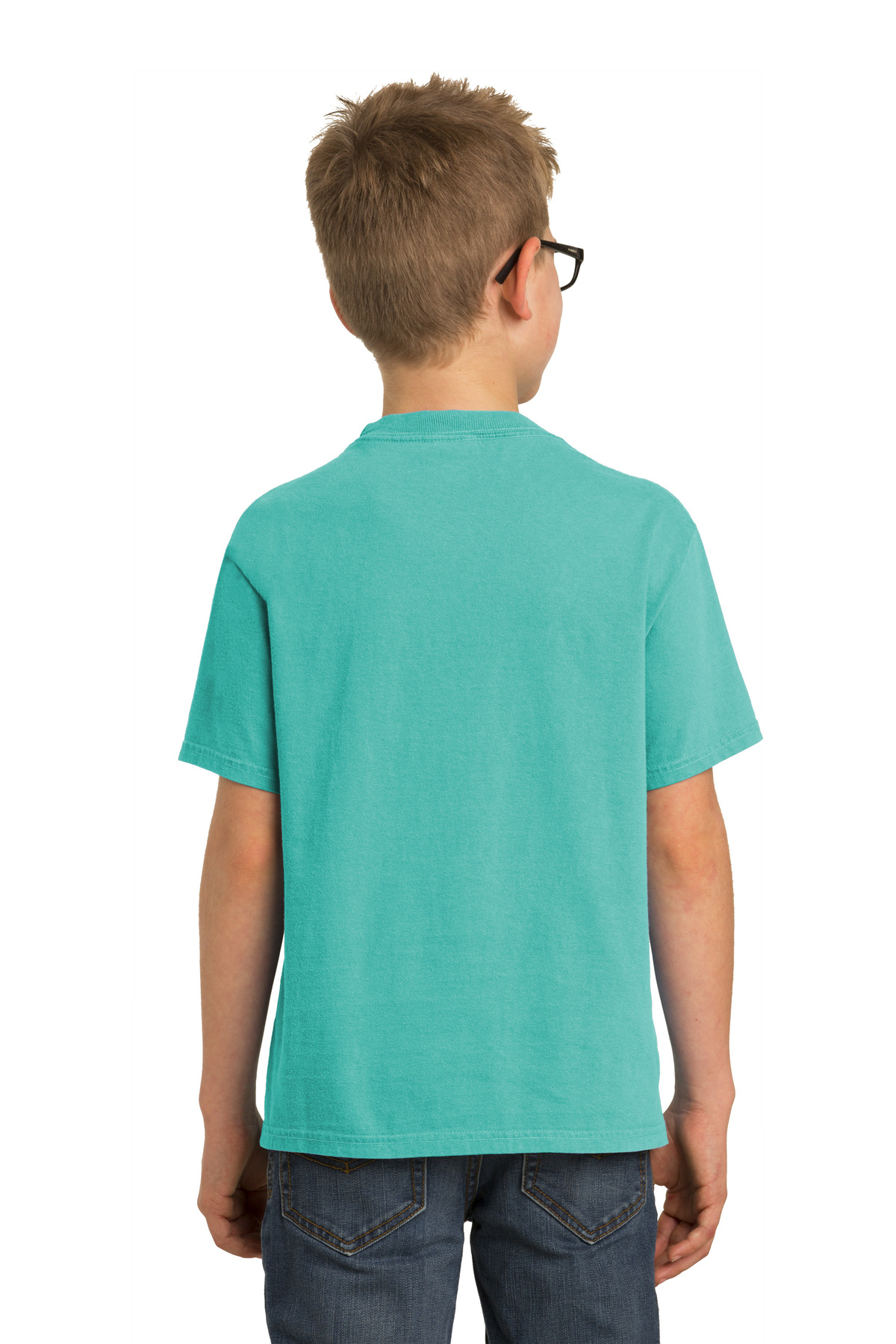 Blue Moon L Port /& Company PC099Y Youth Essential Pigment-Dyed Tee