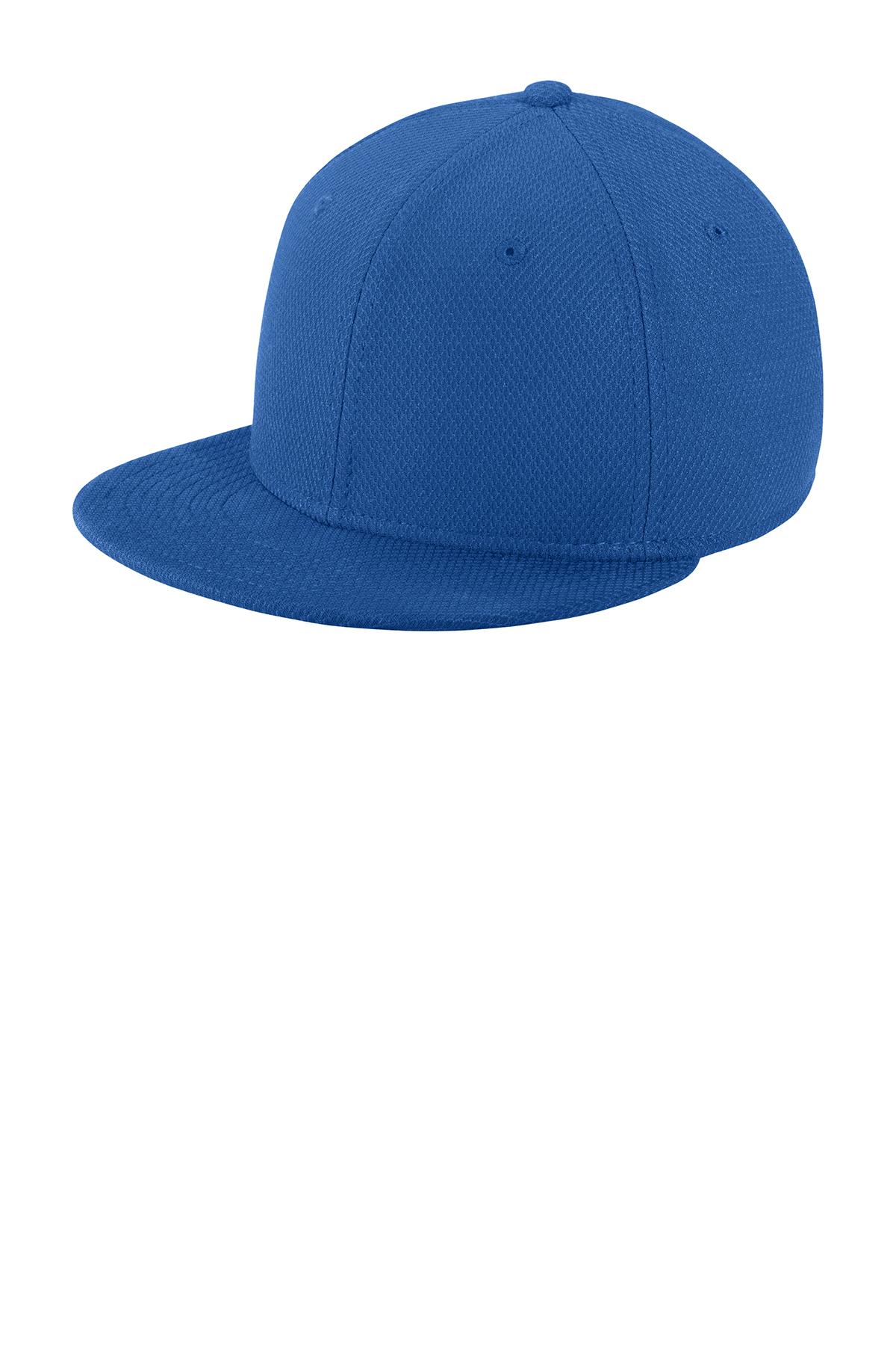 82de149e843 New Era® Youth Original Fit Diamond Era Flat Bill Snapback Cap. Brand Logo