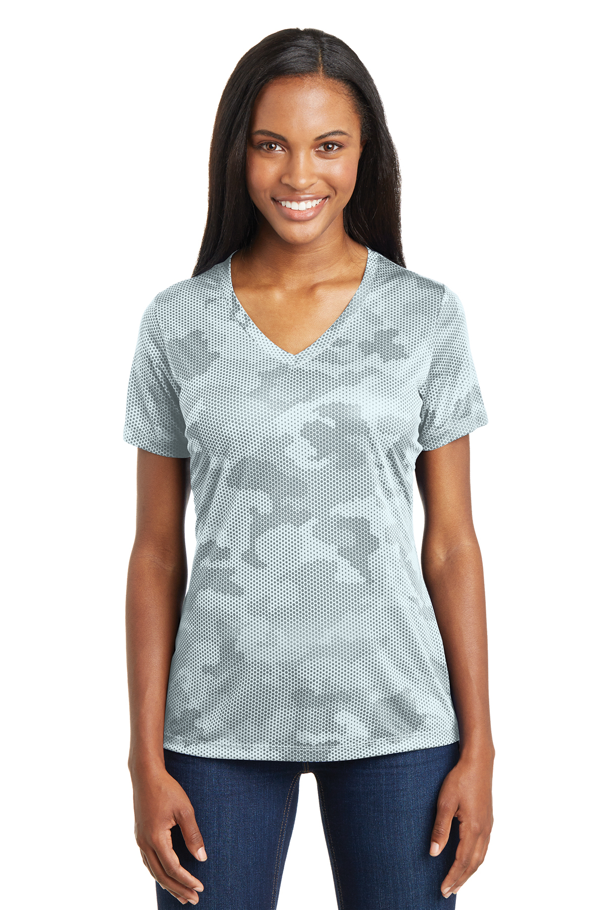 Sport Tek Ladies Camohex V Neck Tee Performance T Shirts Sport Tek Camouflage military tactical uniforms from soviet, russian army, ukrainian bdu and all other armies, paratroopers, spetsnaz and acu. sport tek ladies camohex v neck tee