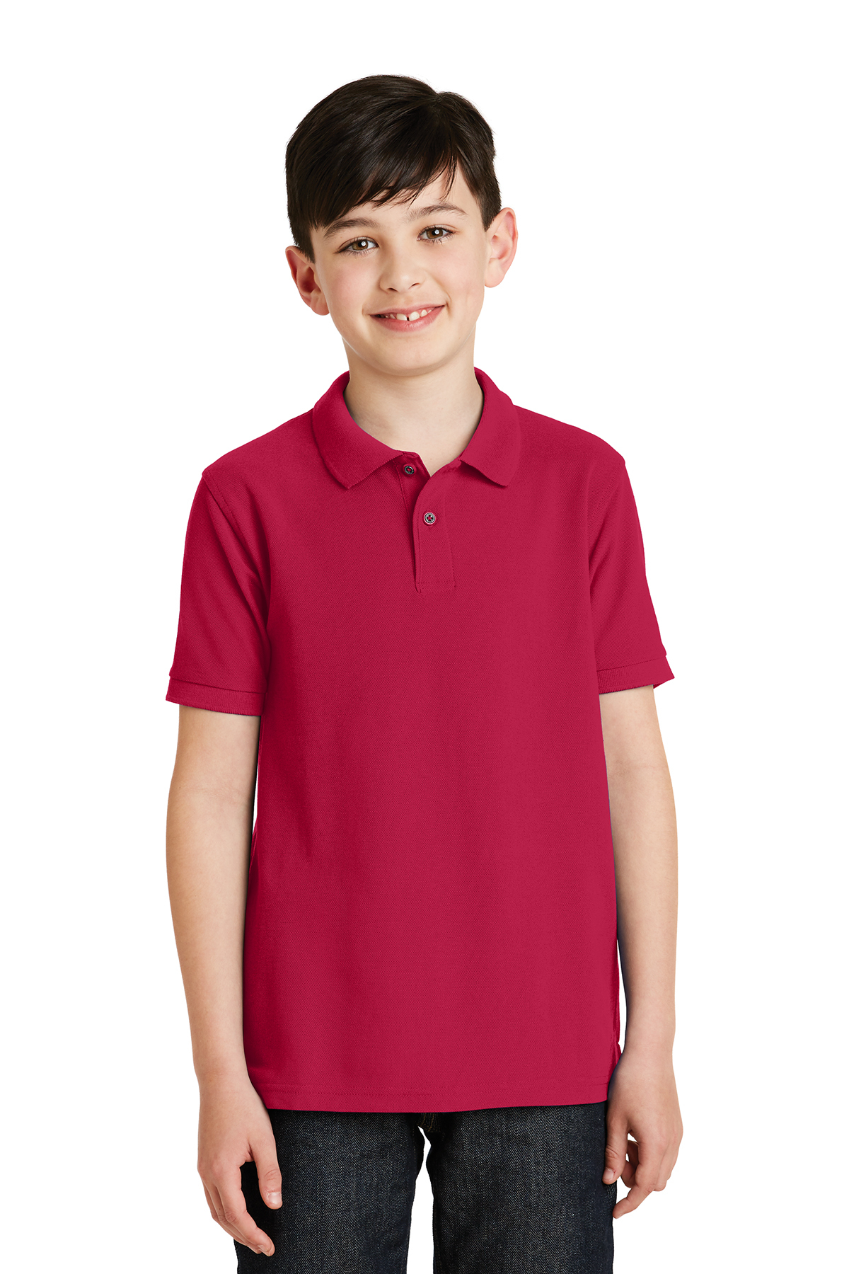 5f3c5c96 Port Authority® Youth Silk Touch™ Polo | Silk Touch | Polos/Knits ...