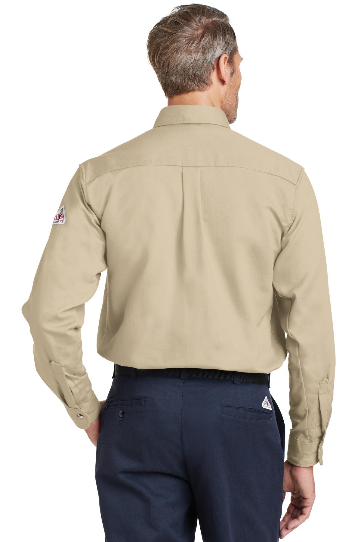 Bulwark Excel Fr Comfortouch Dress Uniform Shirt Industrial