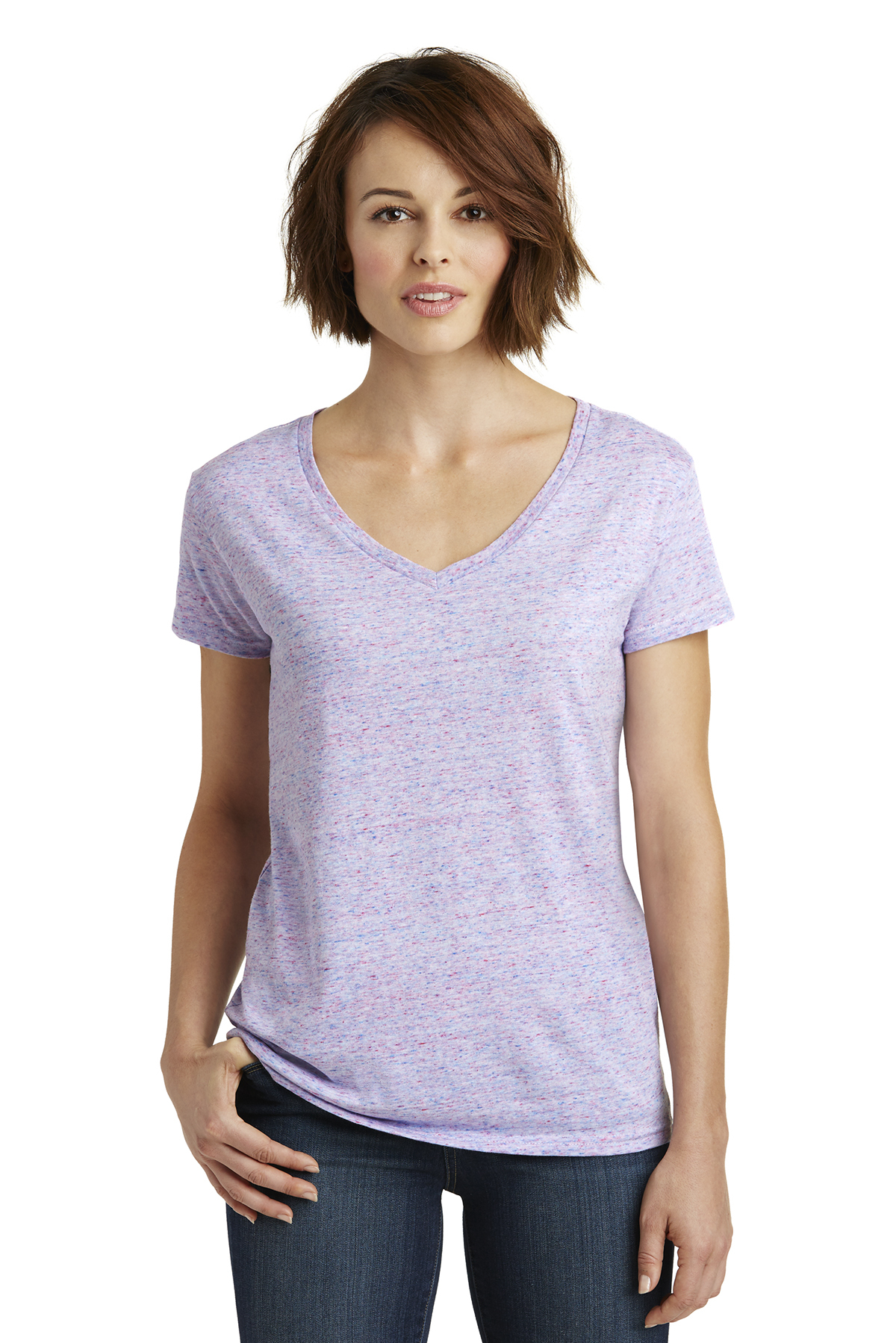 a7c7fa0d1 District ® Women's Cosmic V-Neck Tee | Ladies/Women | T-Shirts ...