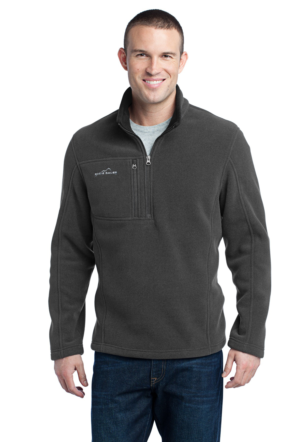 2953997af8d Eddie Bauer® - 1/4-Zip Fleece Pullover | Polyester Fleece | Outerwear ...