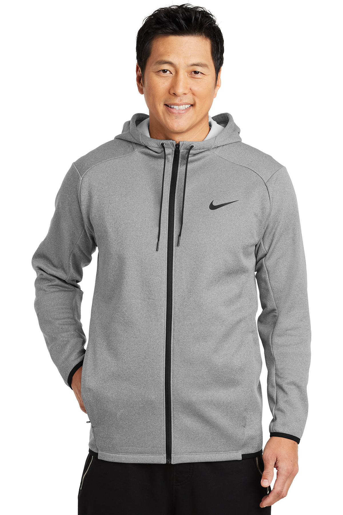 c6ba6d8bb Nike Therma-FIT Textured Fleece Full-Zip Hoodie | Hoodie ...
