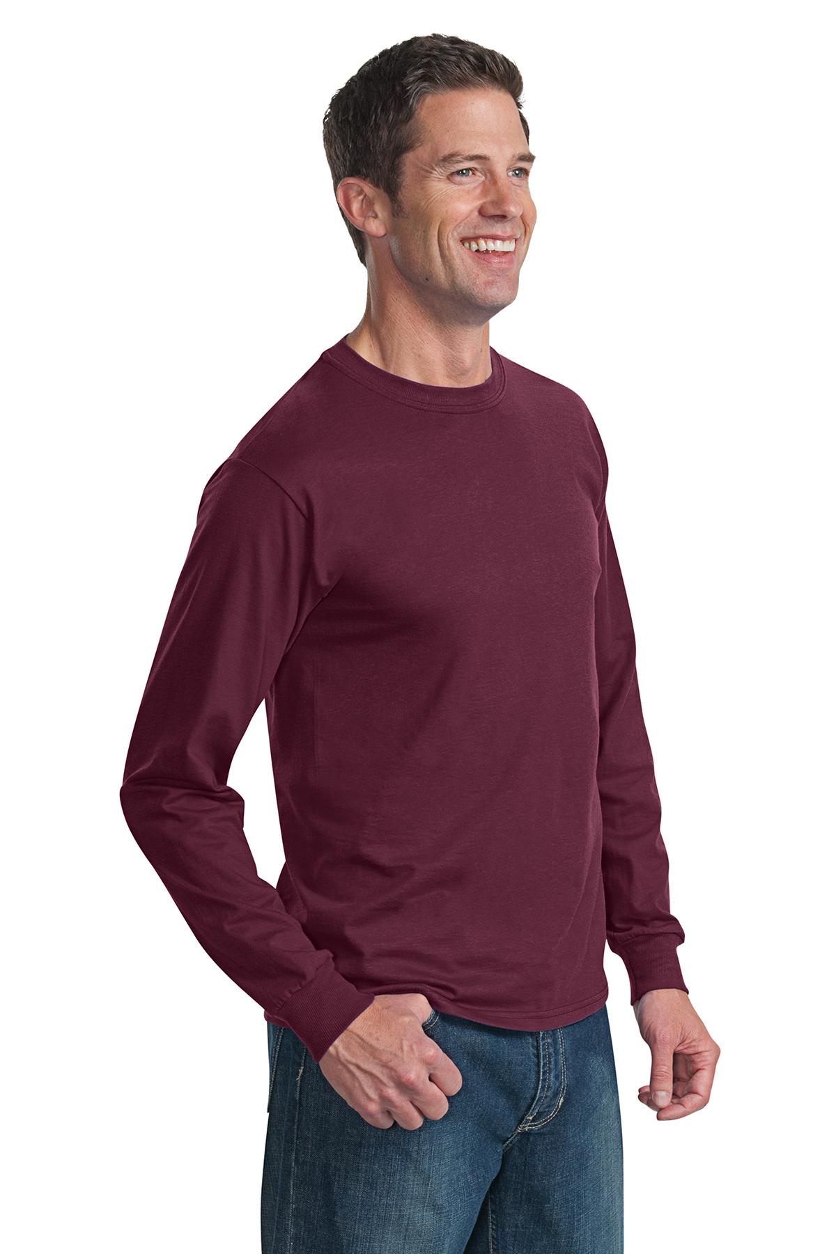 5335903d15150c Fruit of the Loom® HD Cotton™ 100% Cotton Long Sleeve T-Shirt ...