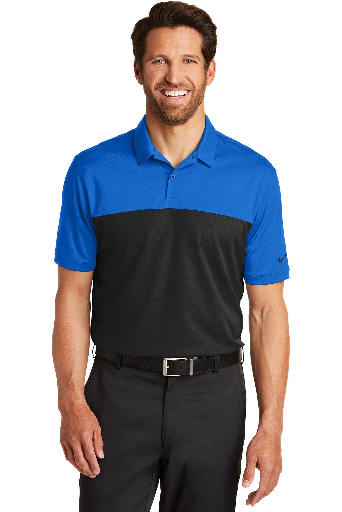 73ec7eba Nike Dri-FIT Colorblock Micro Pique Polo | Performance | Polos/Knits ...