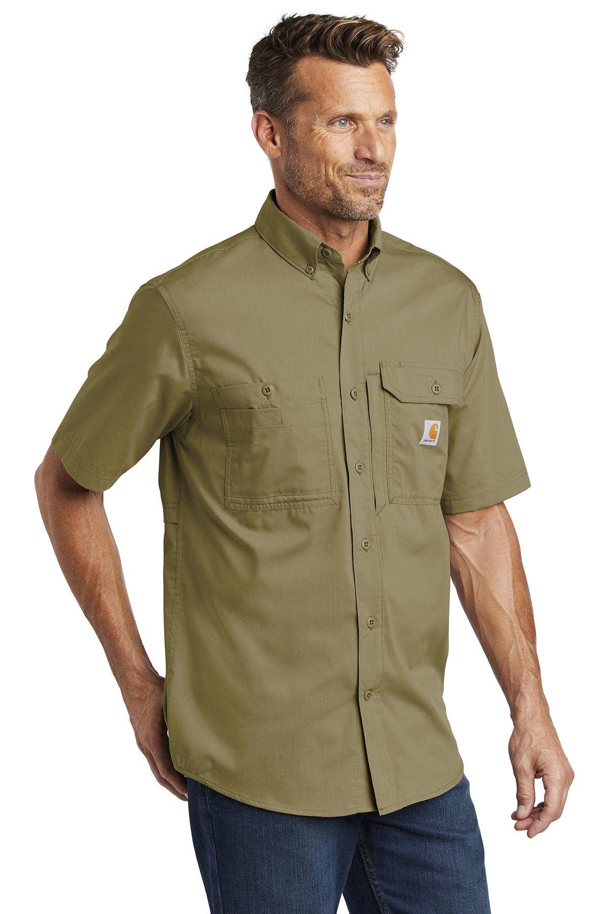 bbb11a290d Carhartt Force ® Ridgefield Solid Short Sleeve Shirt