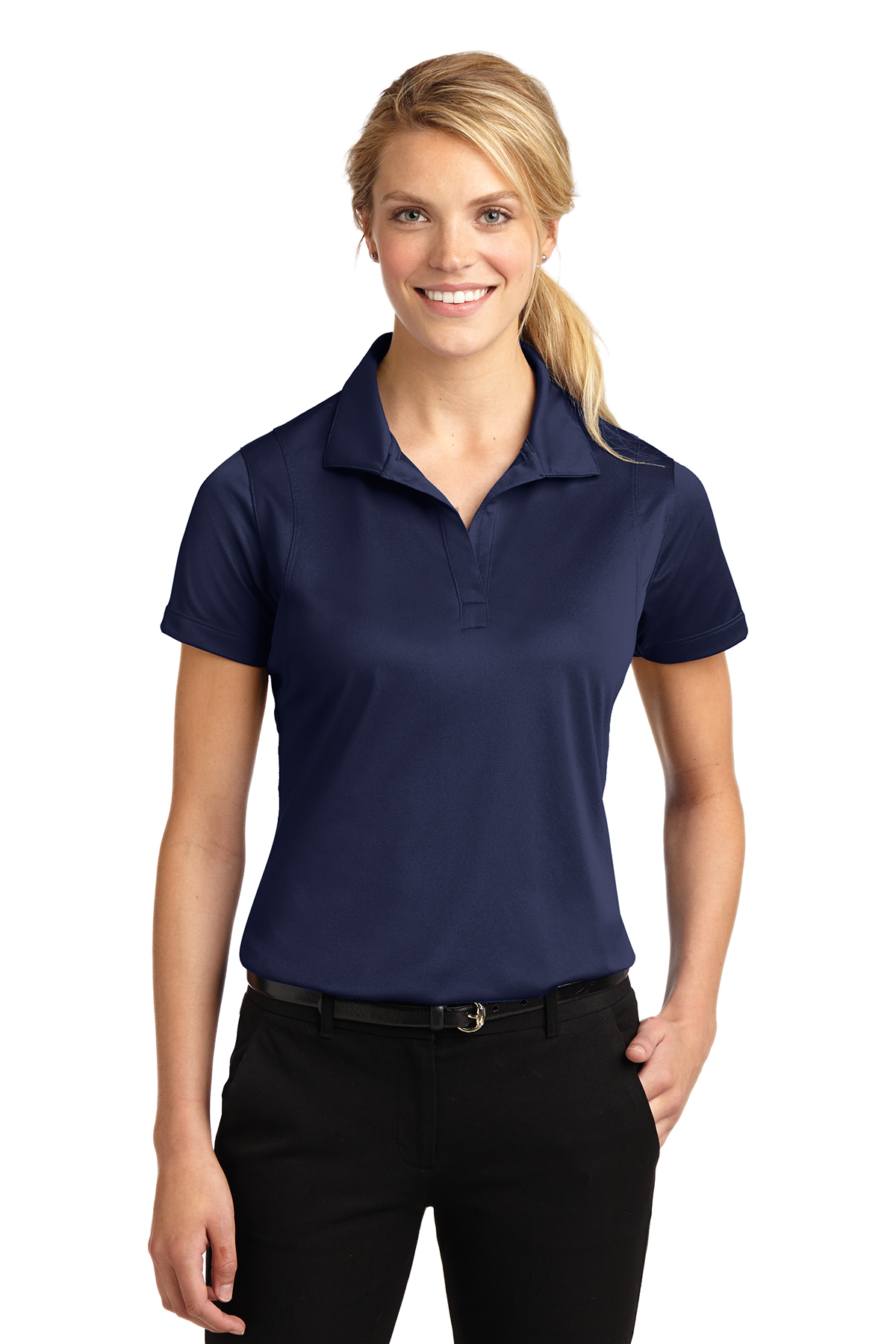Sport Tek Ladies Micropique Sport Wick Polo Ladies Women Polos Knits Sanmar Smooth micropique polos that wick moisture and resist snags. sport tek ladies micropique sport wick