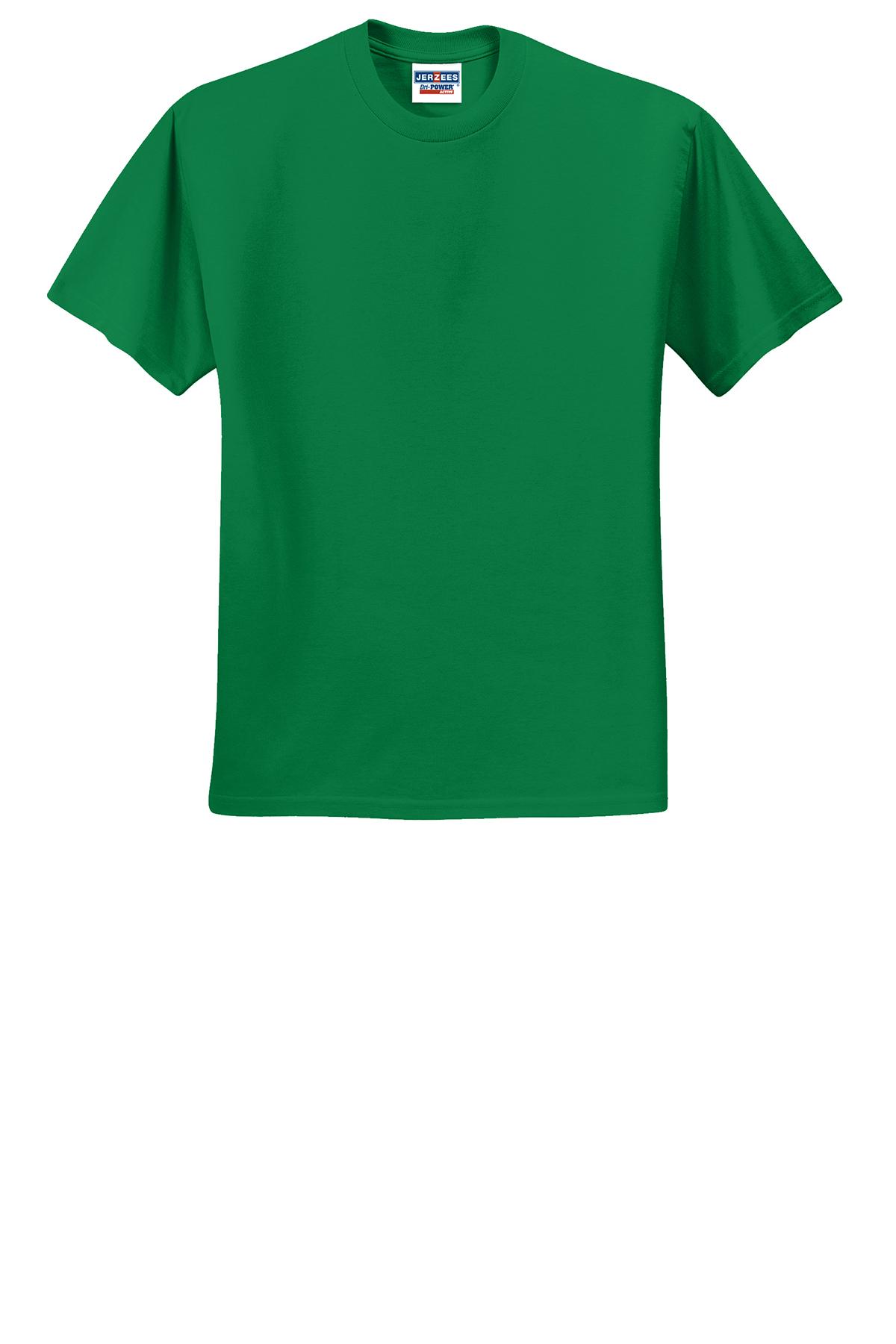 JERZEES® Dri Power® Active 5050 CottonPoly T Shirt | 50