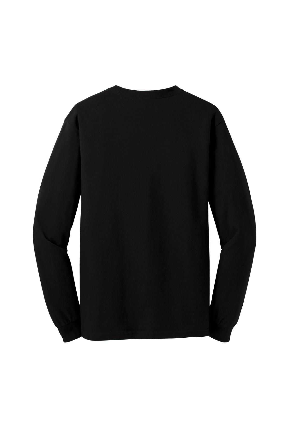 Gildan Heavy Cotton 100 Cotton Long Sleeve T Shirt