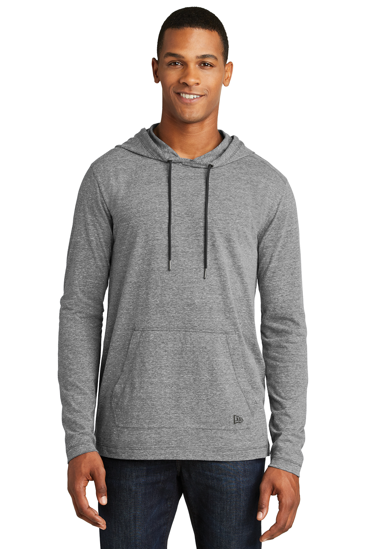 5a685a4a New Era® Tri-Blend Performance Pullover Hoodie Tee | Long Sleeve ...