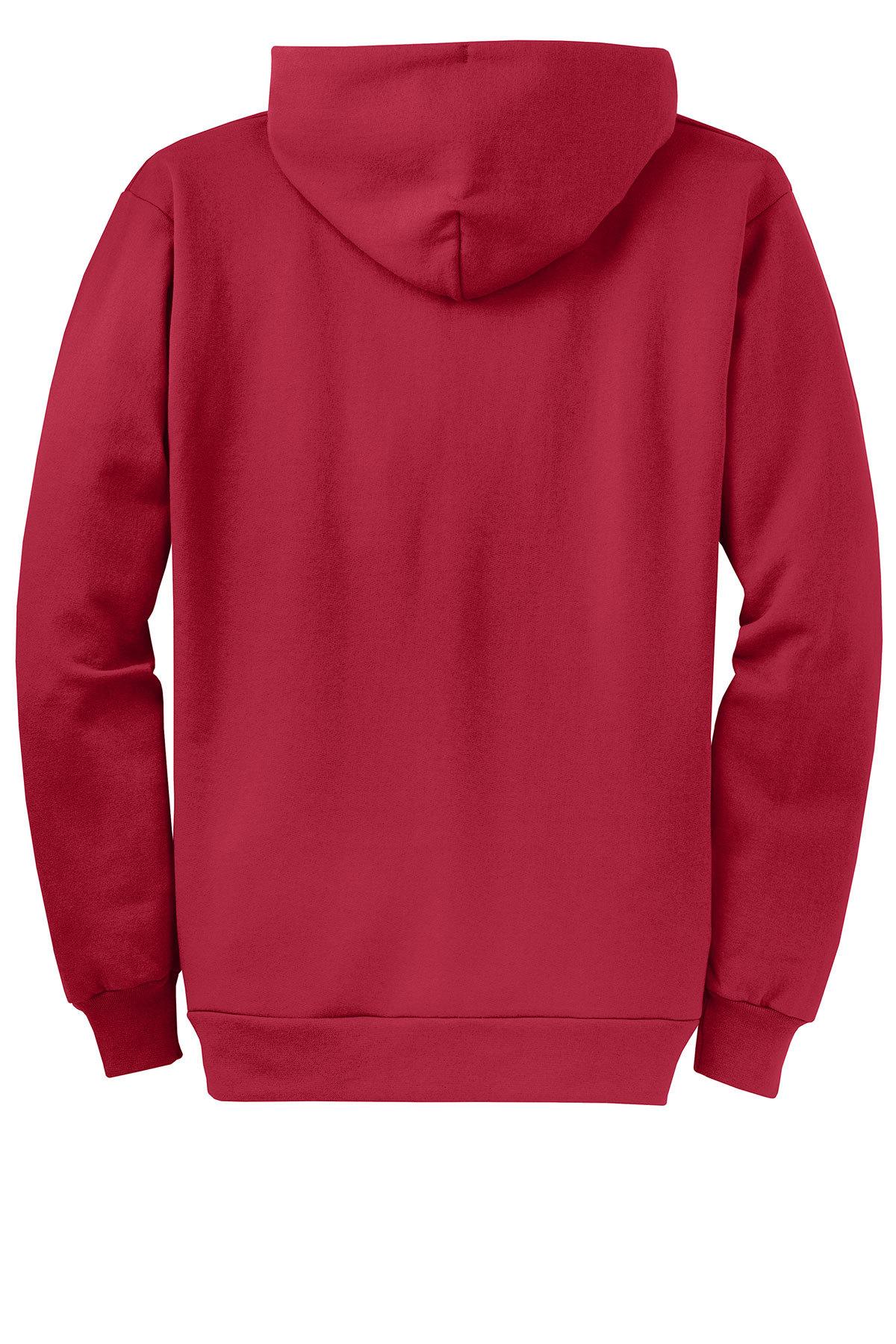 Port /& Company Mens Hooded Fleece Sweatshirt,X-Large,Dark Green