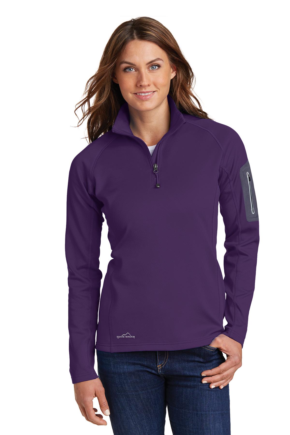 f4e1c038411 Eddie Bauer® Ladies 1/2-Zip Performance Fleece | Ladies/Women ...