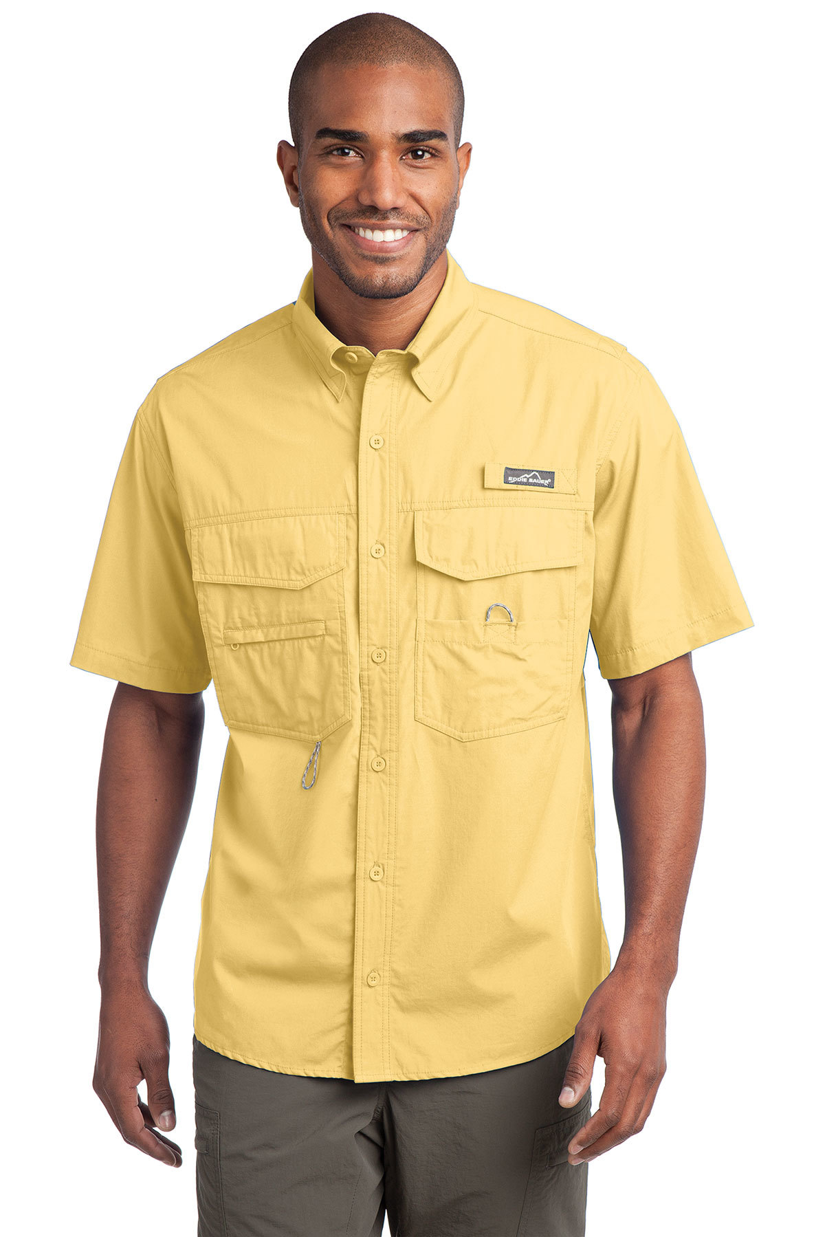 3c9d7080 Eddie Bauer® - Short Sleeve Fishing Shirt | Fishing | Woven Shirts ...