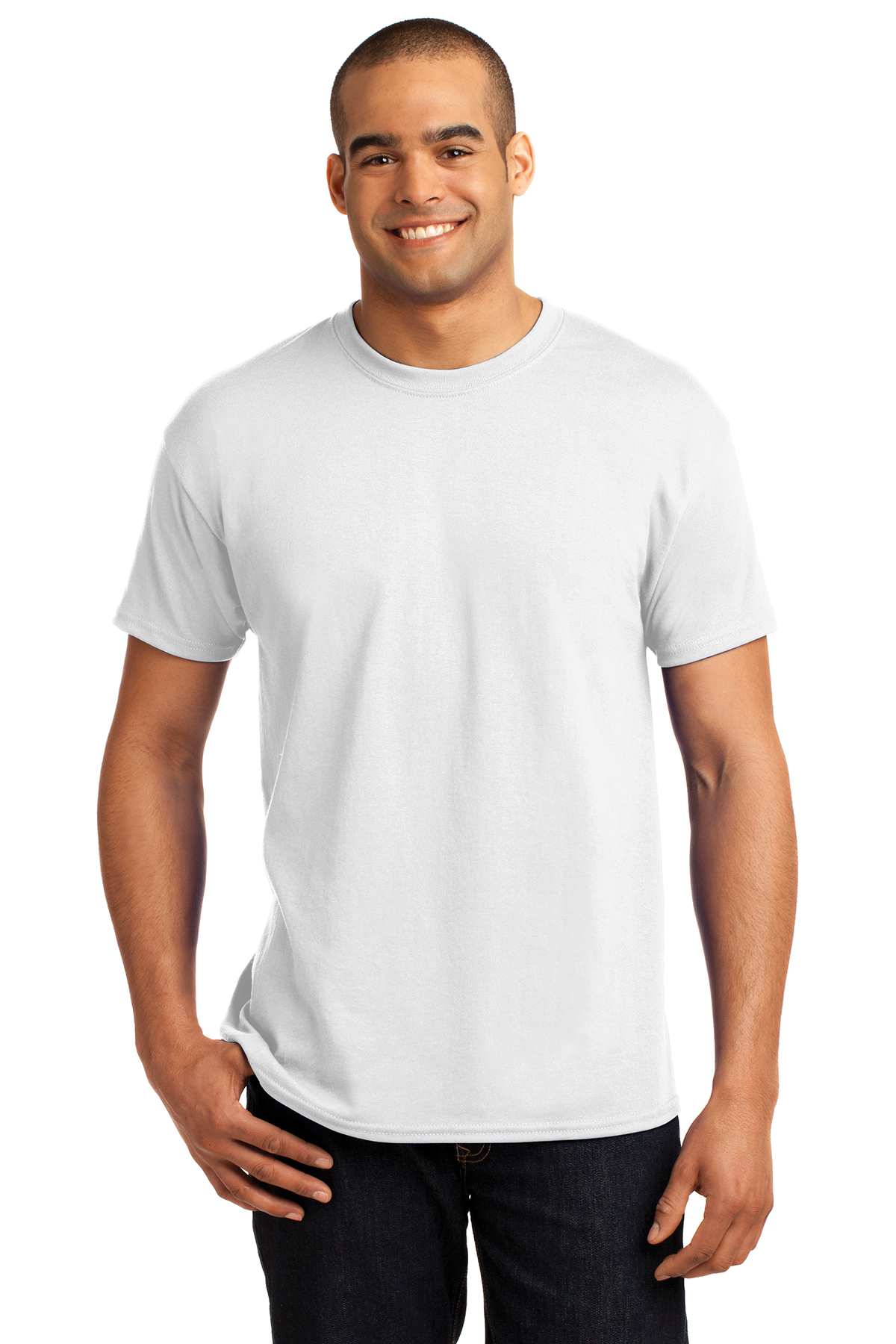 817b5af5ad7 Hanes® - EcoSmart® 50 50 Cotton Poly T-Shirt