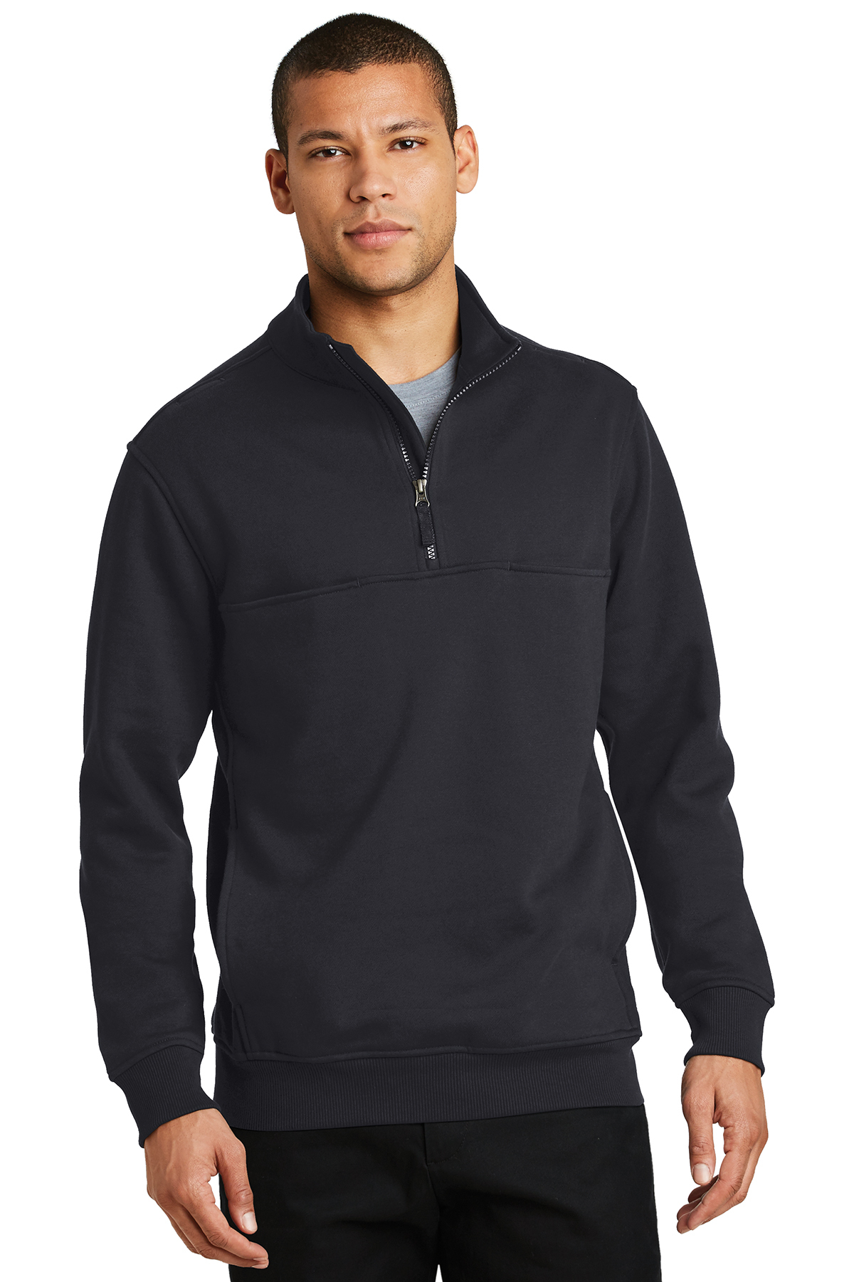 CornerStone 1//2-Zip Job Shirt