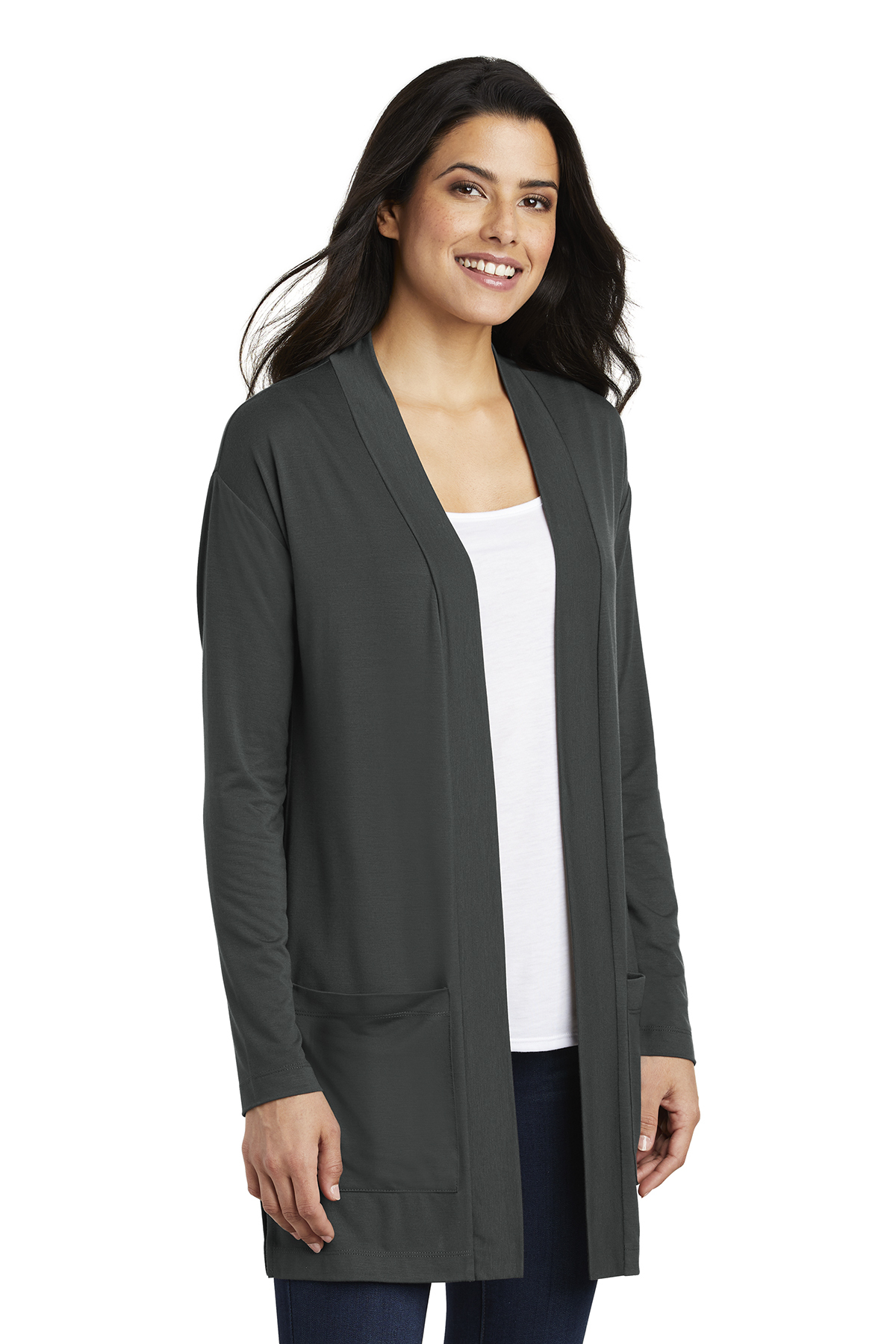 8c0d53774 ... Port Authority ® Ladies Concept Long Pocket Cardigan. A maximum of 8  logos have been uploaded. Please remove a logo from My Logos to continue