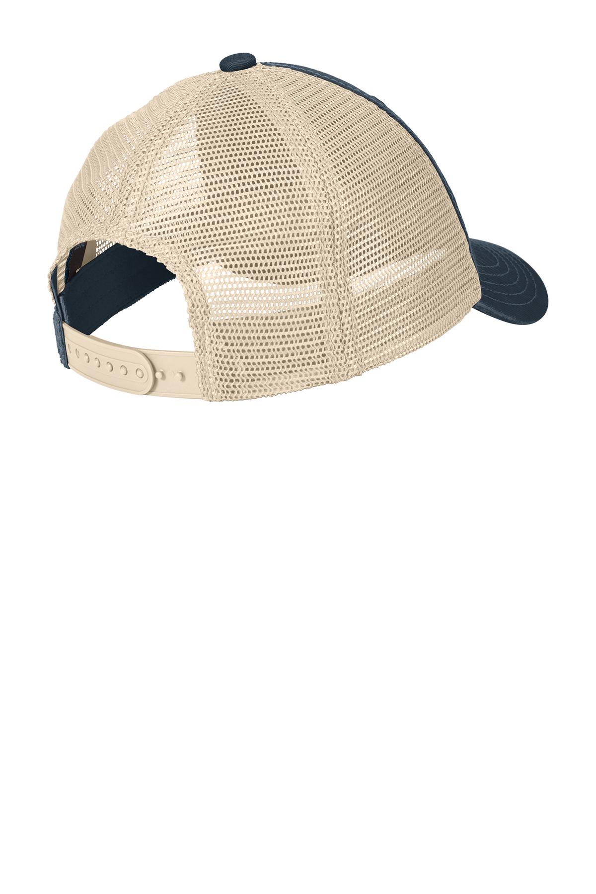 Custom Embroidered   Baseball Cap Super Soft Mesh Back DT630 Trucker Fishing