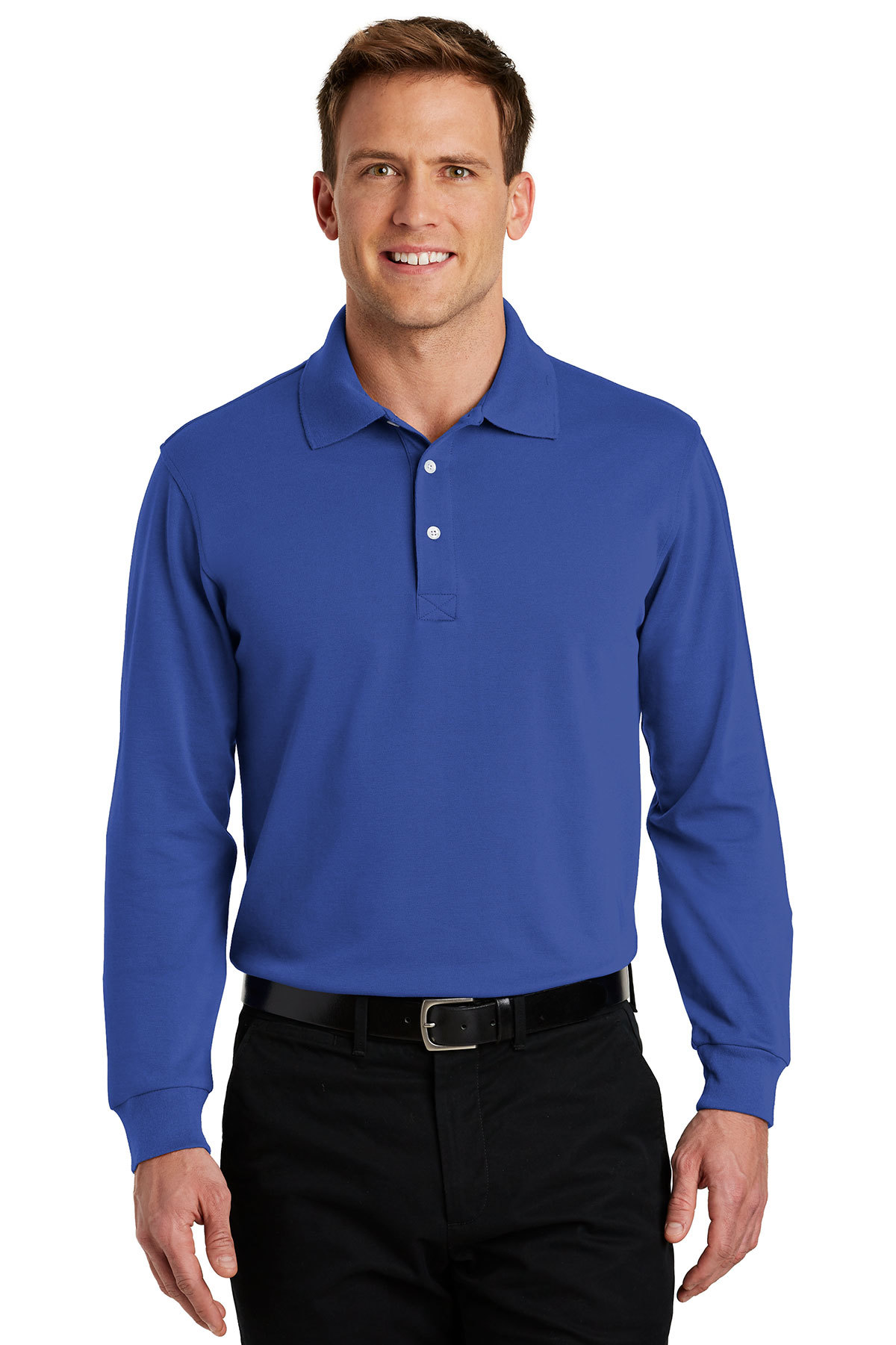049209fb6ae Port Authority® Rapid Dry™ Long Sleeve Polo