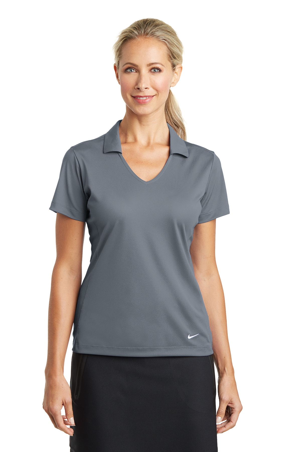 7dd13ff6 Nike Ladies Dri-FIT Vertical Mesh Polo | Ladies/Women | Polos/Knits ...