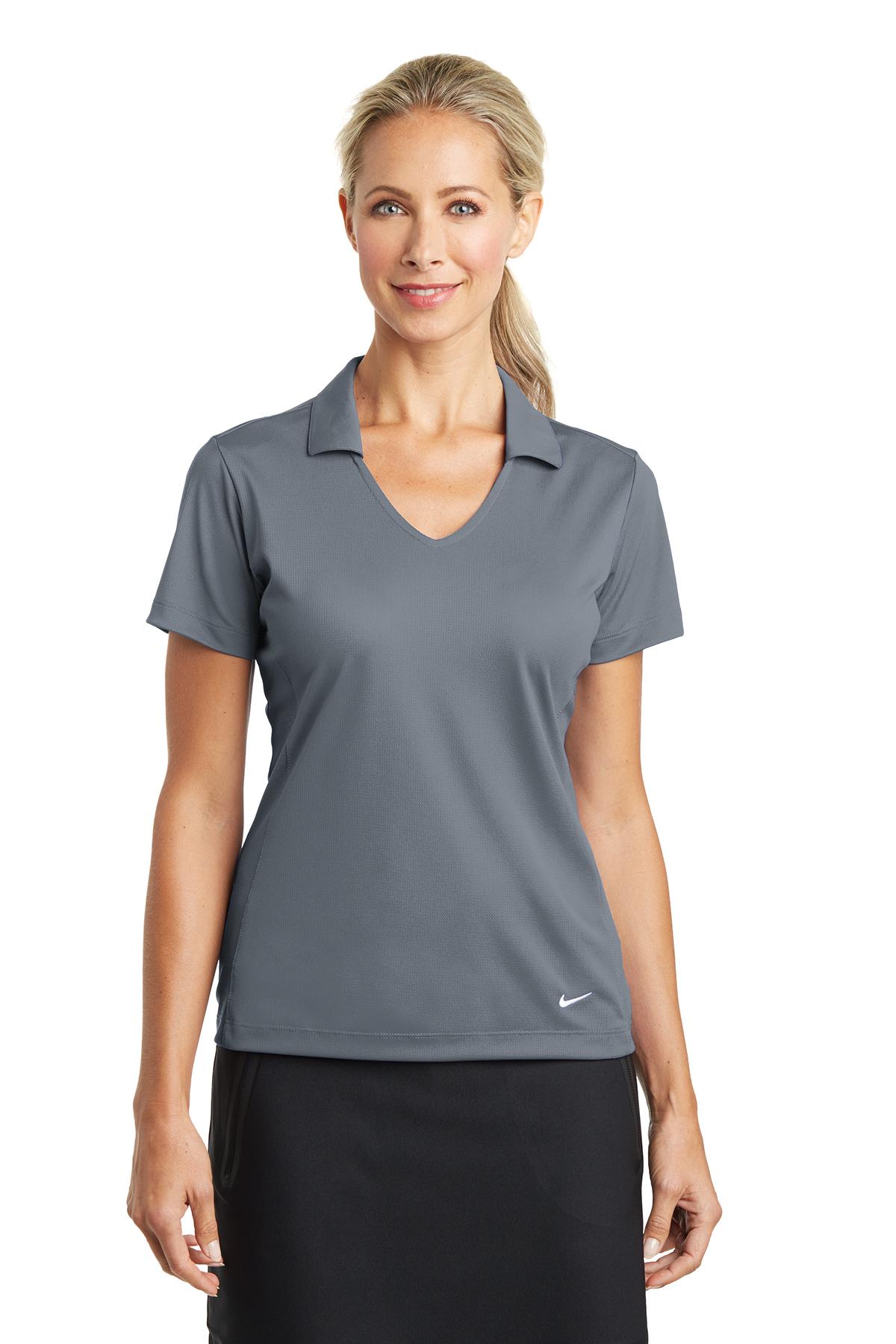 4de44ad33 Nike Ladies Dri-FIT Vertical Mesh Polo | Ladies/Women | Polos/Knits ...