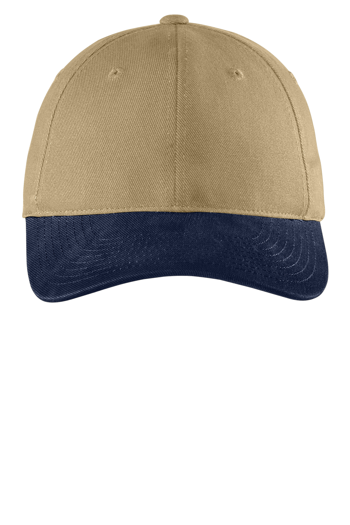 C815 Port Authority Two-Tone Brushed Twill Cap